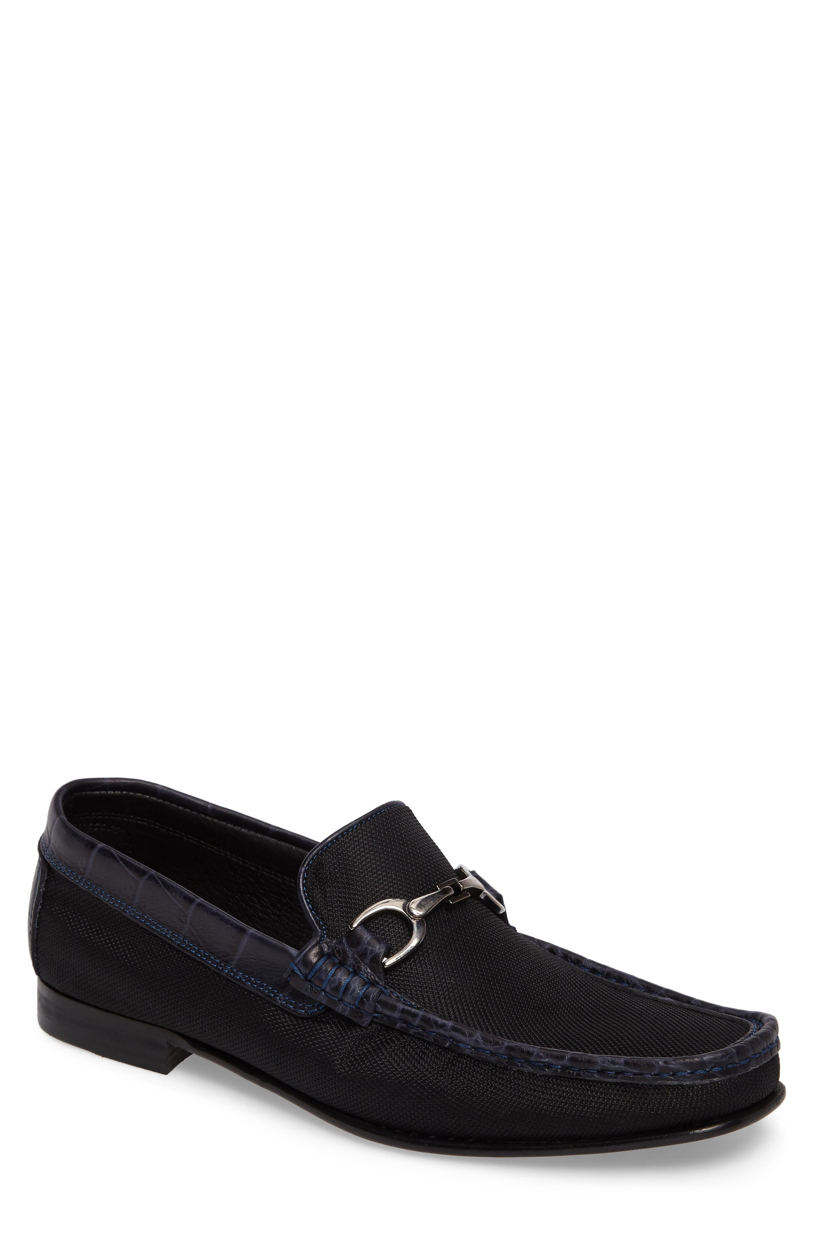 Darrin Embossed Loafer,                         Main,                         color, 001