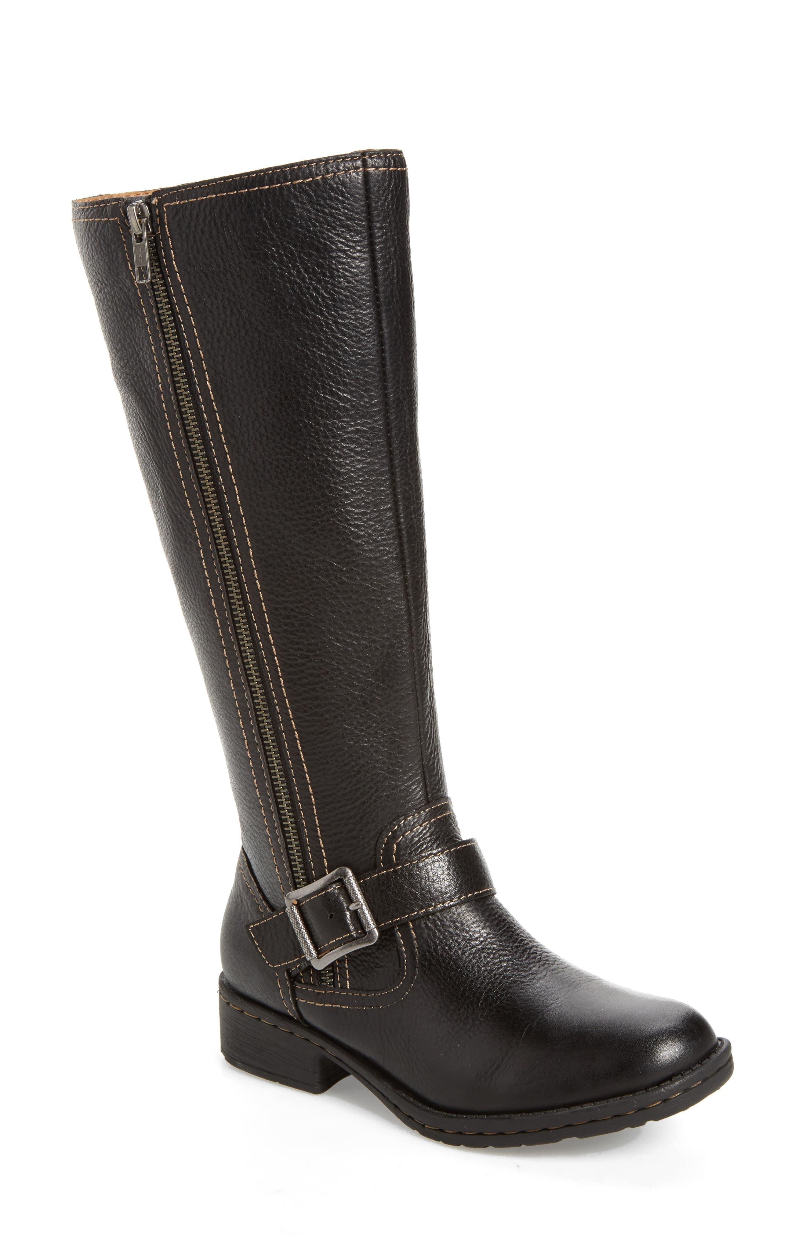 Sedalia Tall Boot,                         Main,                         color, 001