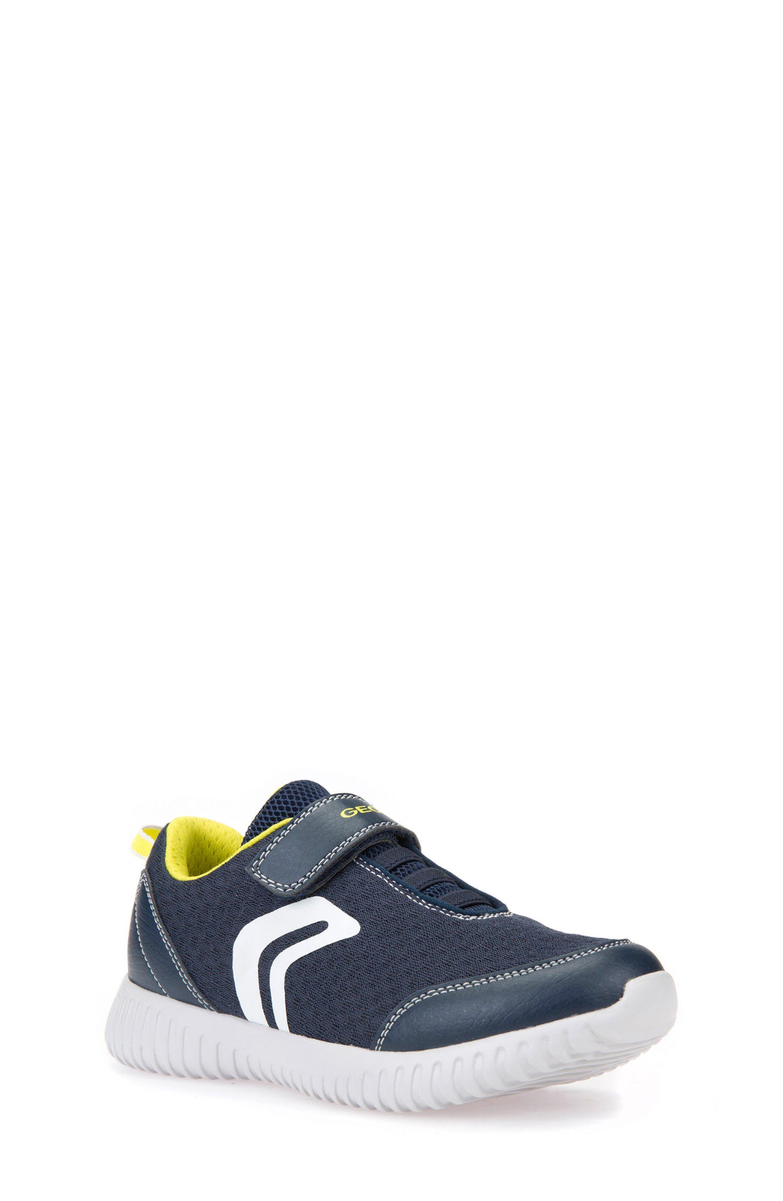 Boys Geox Waviness Sneaker Size 6US  39EU  Red
