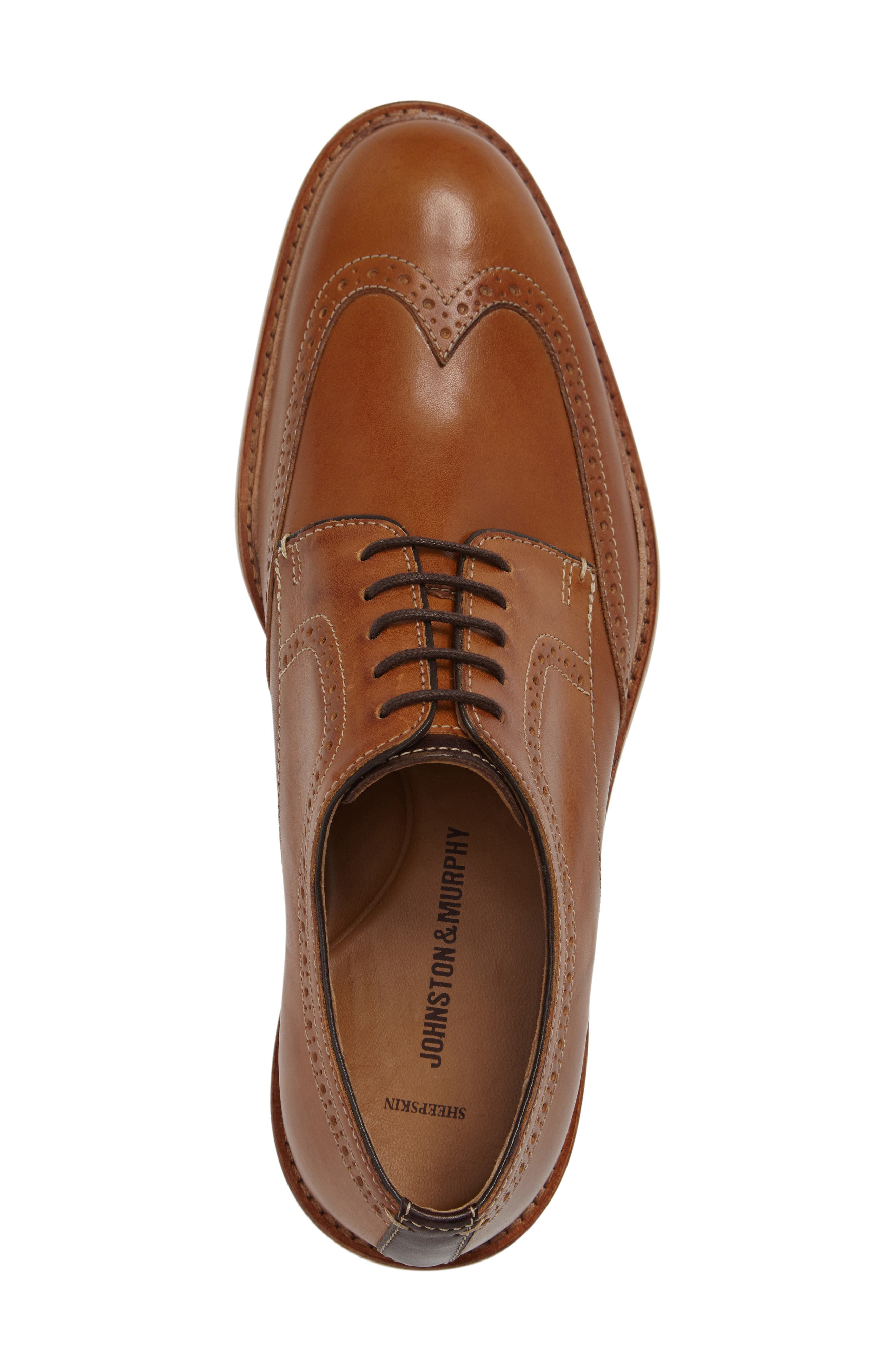 Campbell Wingtip,                             Alternate thumbnail 6, color,