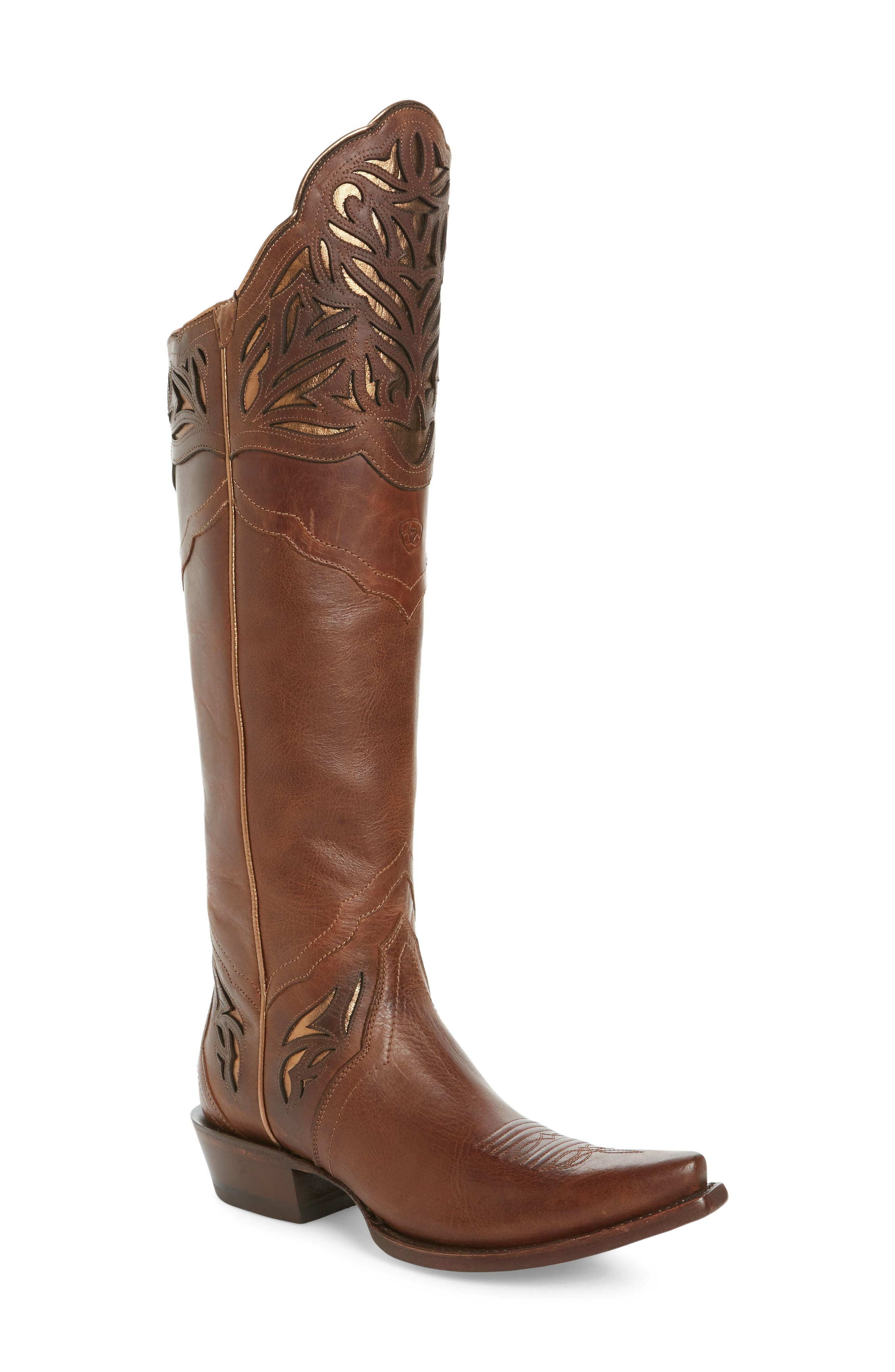Chaparral Over the Knee Western Boot,                             Main thumbnail 1, color,                             200