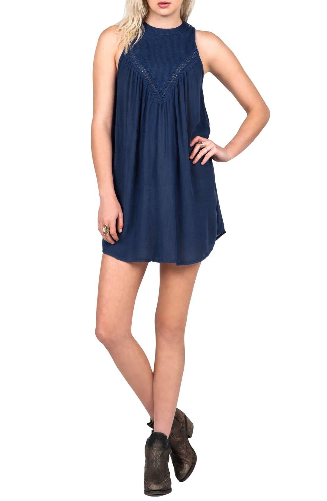 'Peaceazy' Tank Dress,                         Main,                         color,