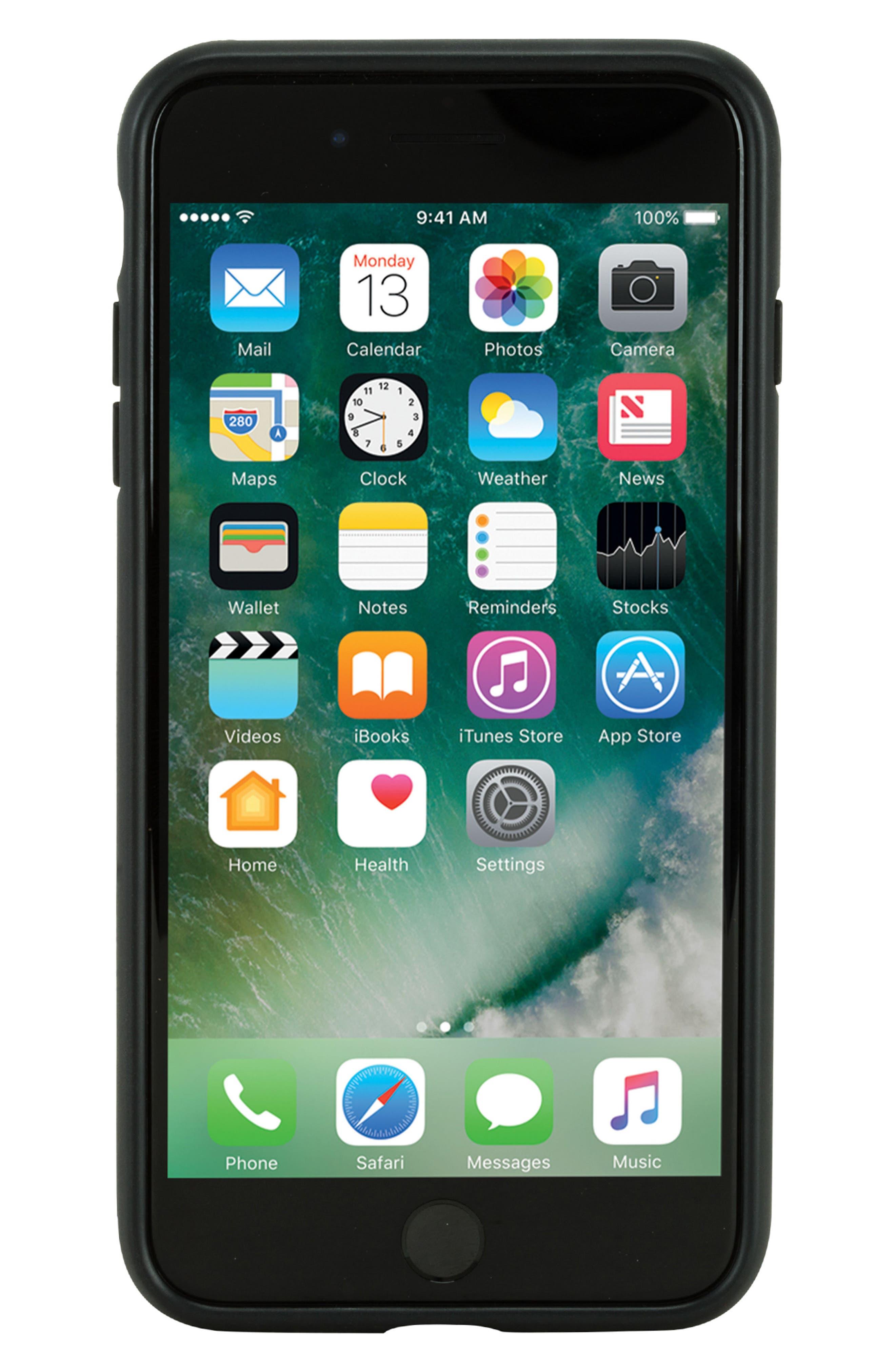 Textured iPhone 7 Plus/8 Plus,                             Main thumbnail 1, color,                             001