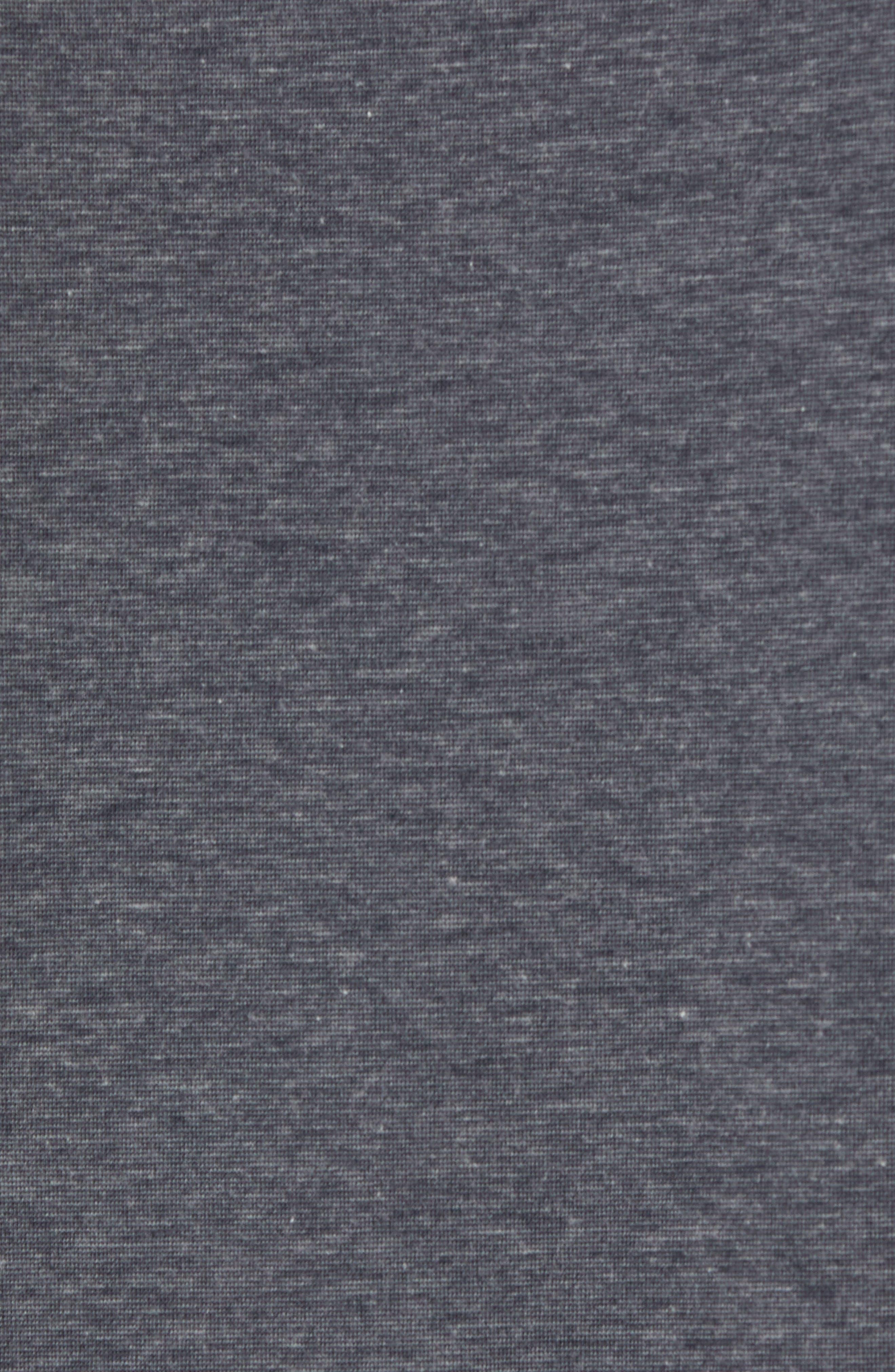 Recline Performance T-Shirt,                             Alternate thumbnail 5, color,                             HEATHER MAGNET