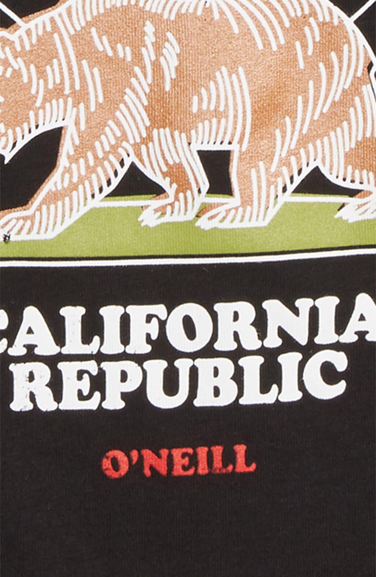 Republic T-Shirt,                             Alternate thumbnail 2, color,                             BLACK