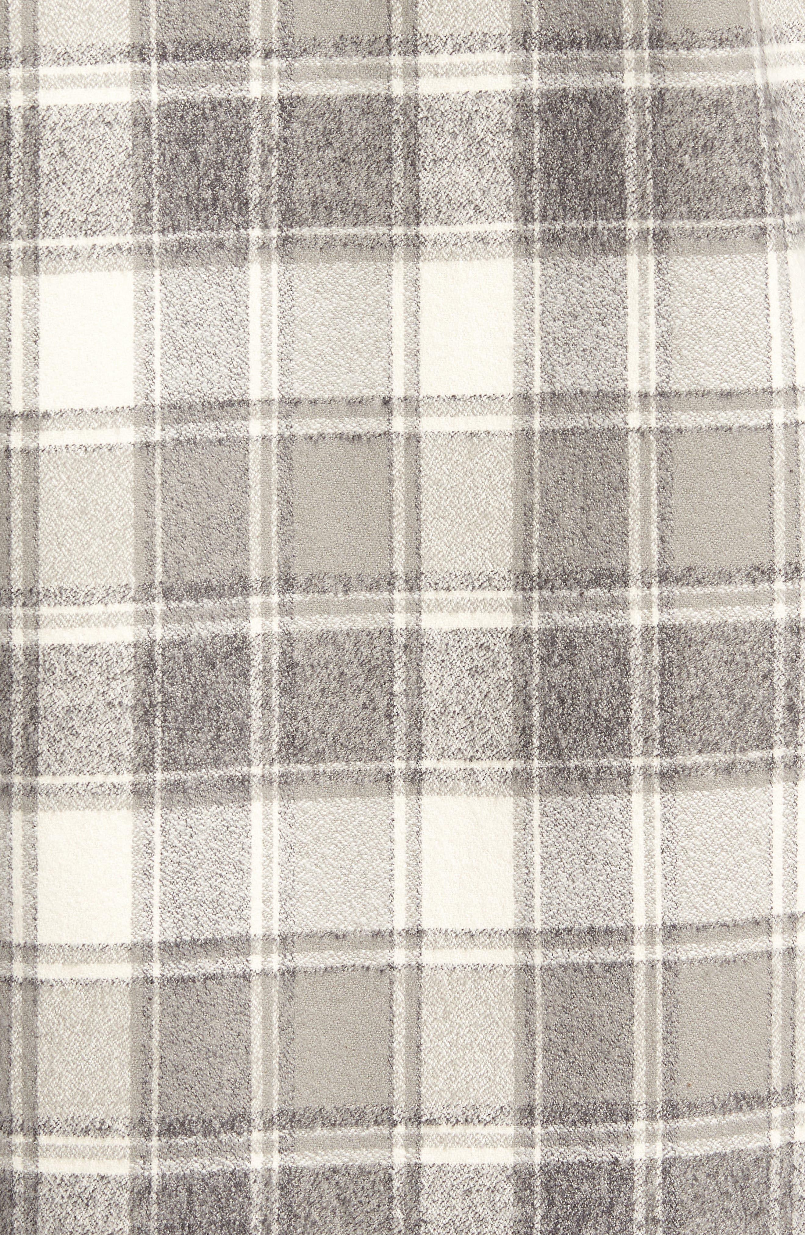 Ma Slim Fit Plaid Sport Shirt,                             Alternate thumbnail 5, color,                             060
