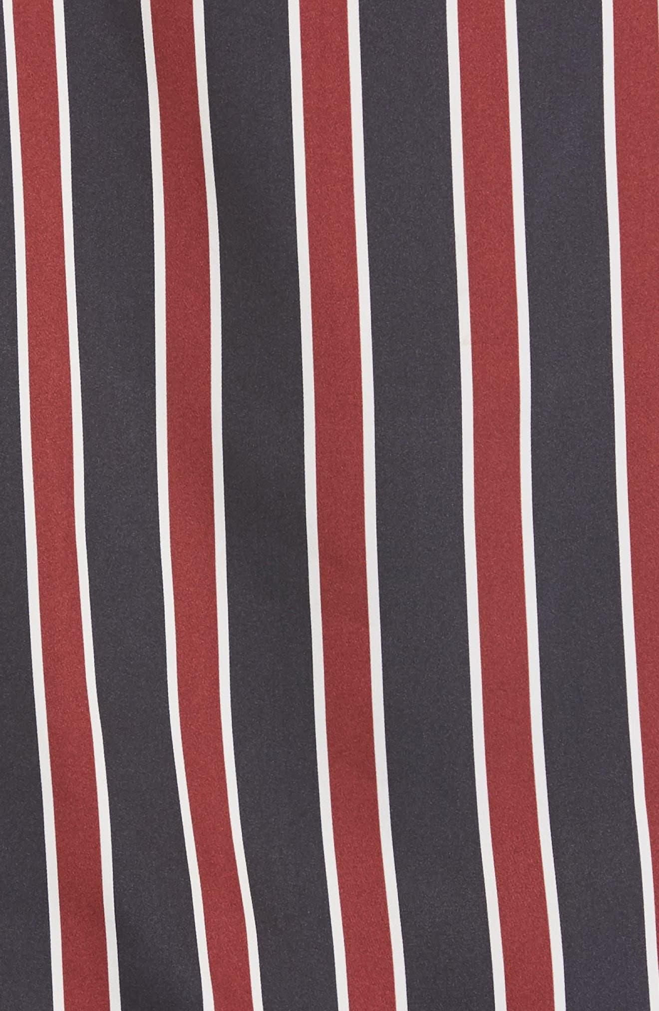 Stripe Camisole,                             Alternate thumbnail 5, color,                             NAVY MULTI