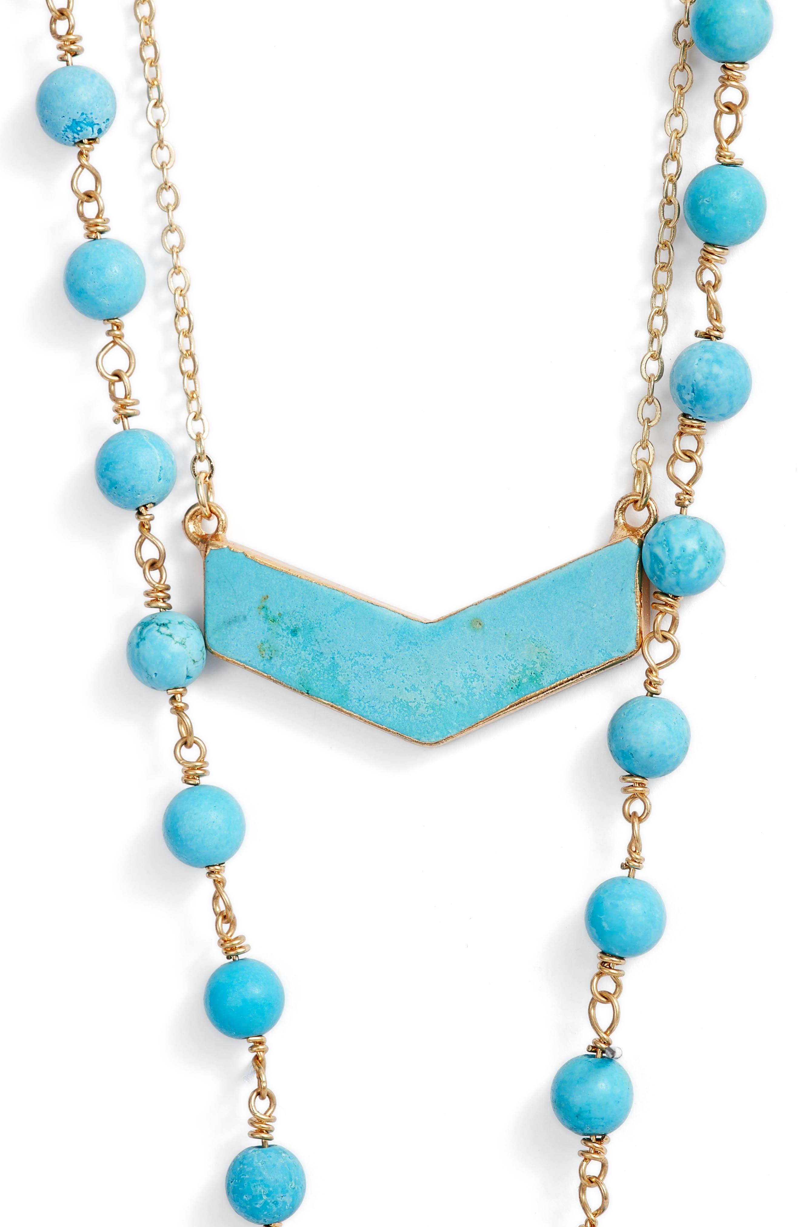 Julia Double Strand Necklace,                             Alternate thumbnail 6, color,
