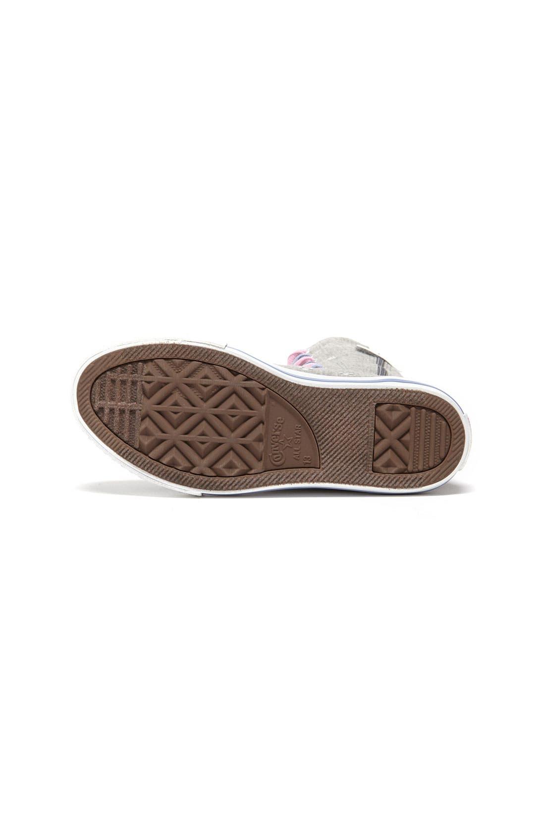 'CT X-Hi' Tall Sneaker,                             Alternate thumbnail 3, color,                             020