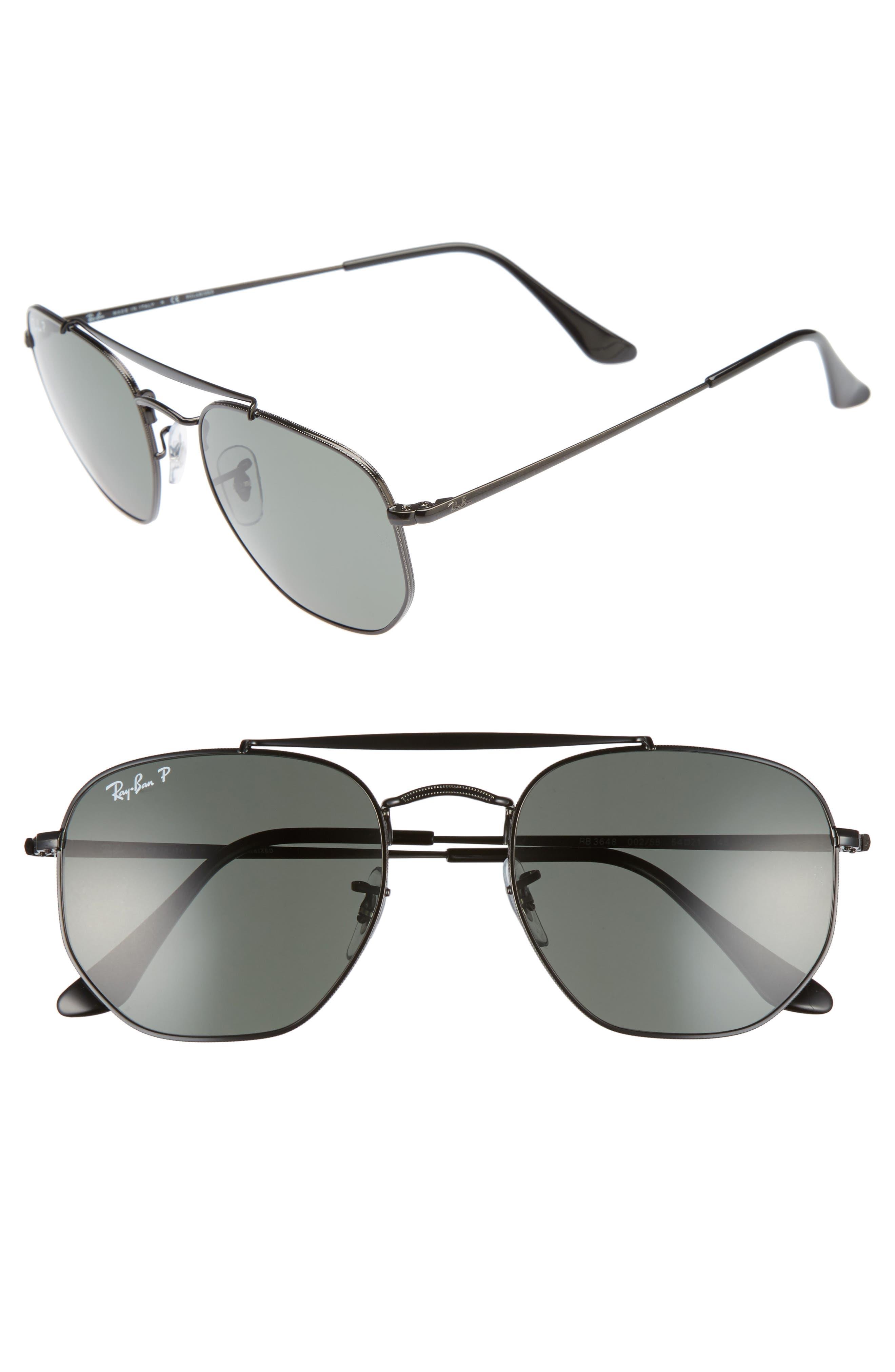 The Ja-Jo 54mm Round Sunglasses,                             Main thumbnail 1, color,                             002