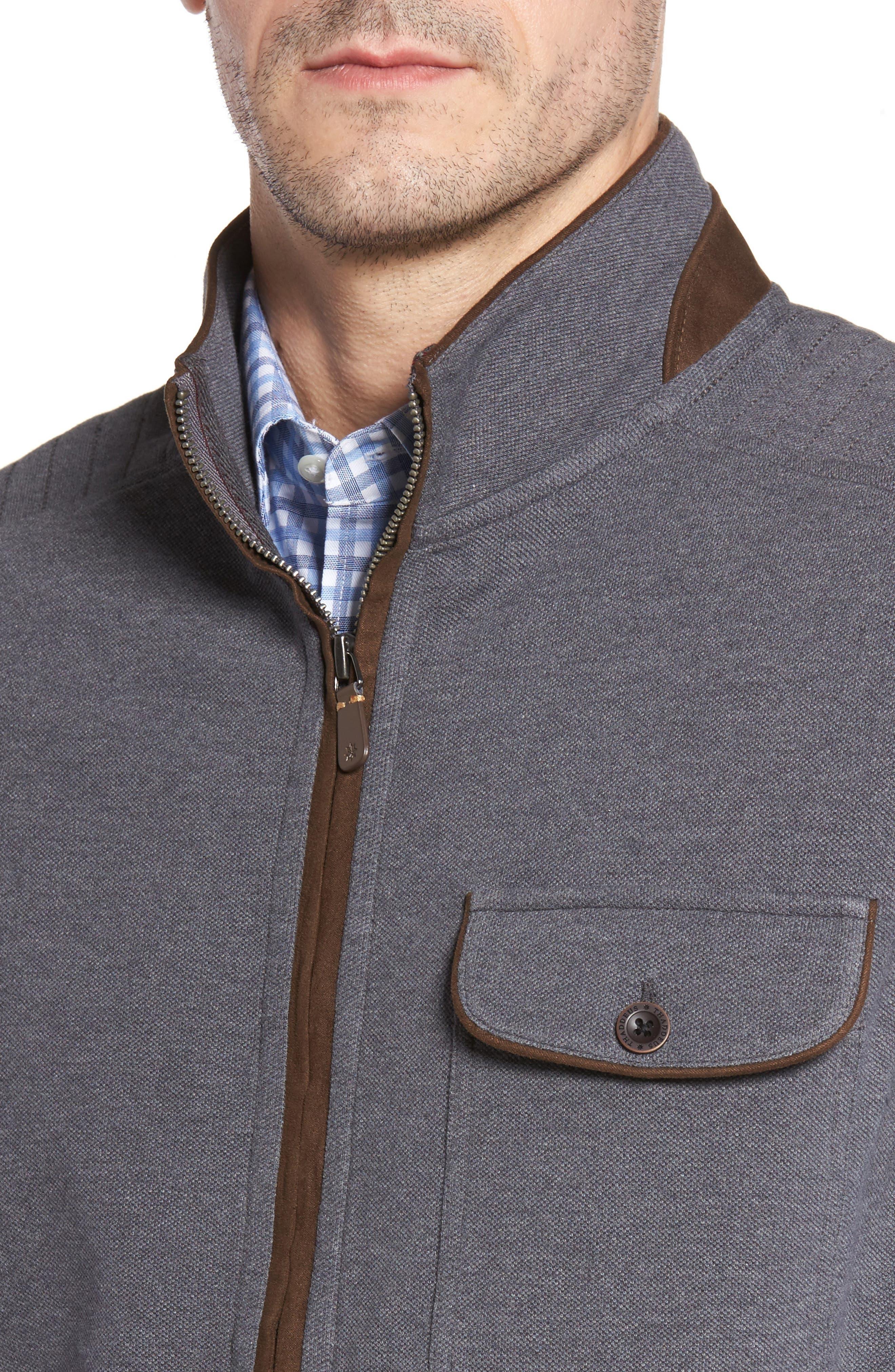 THADDEUS,                             Robert Full Zip Vest,                             Alternate thumbnail 4, color,                             014