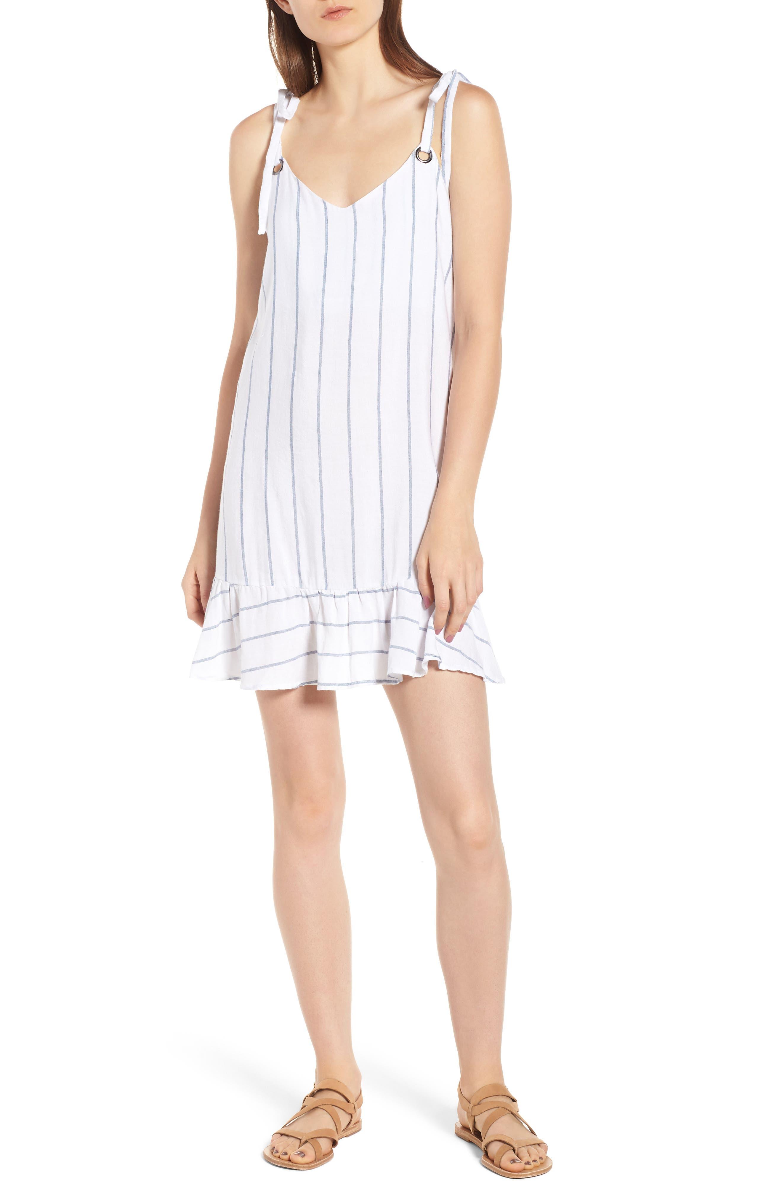 Rails Diana Tank Dress, White