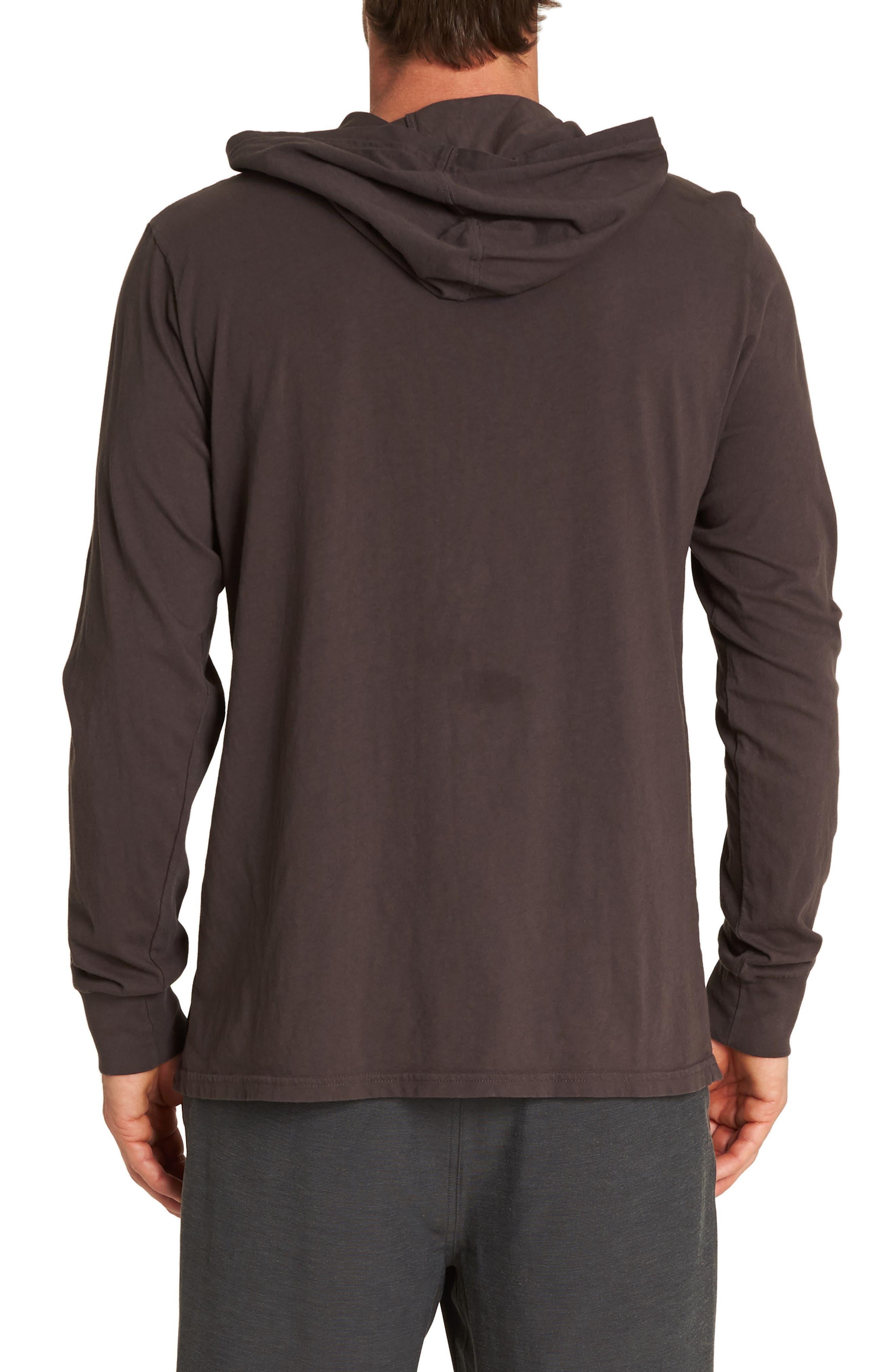 Diamond Hooded T-Shirt,                             Alternate thumbnail 2, color,                             CHAR