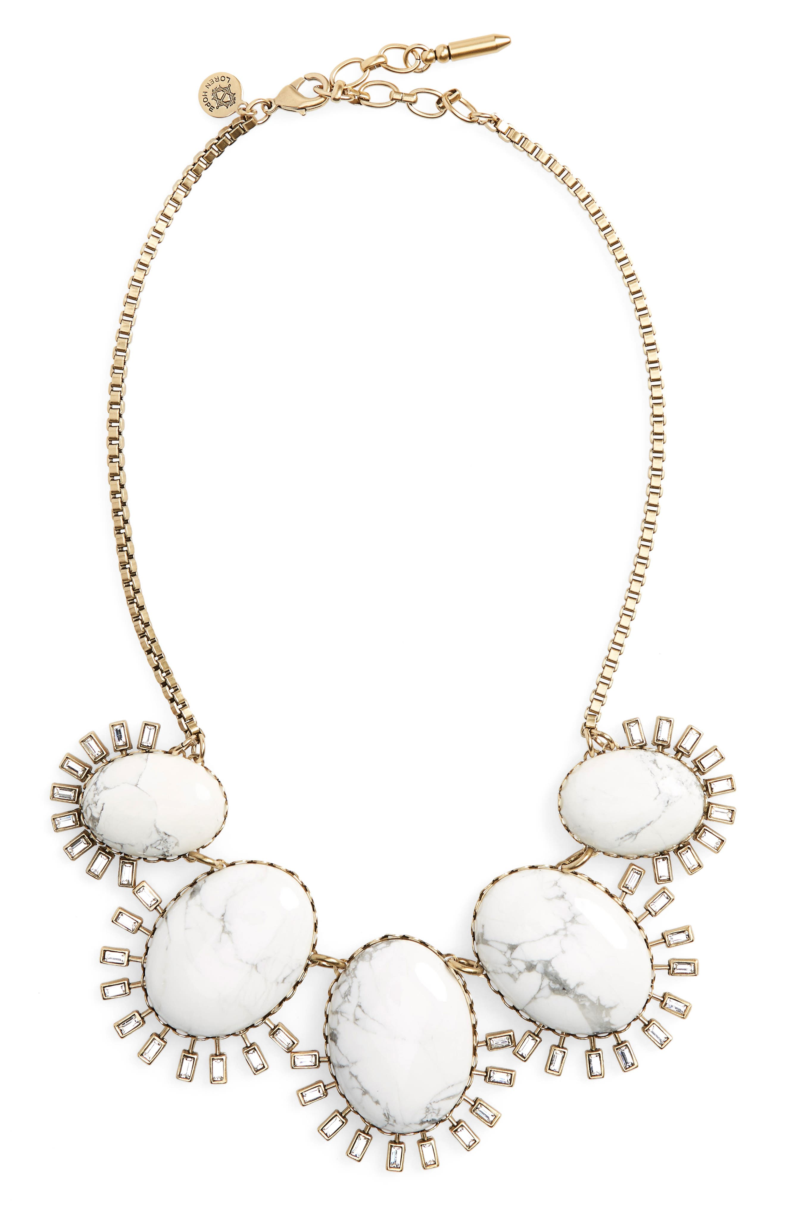 Frontal Necklace,                             Main thumbnail 1, color,                             100
