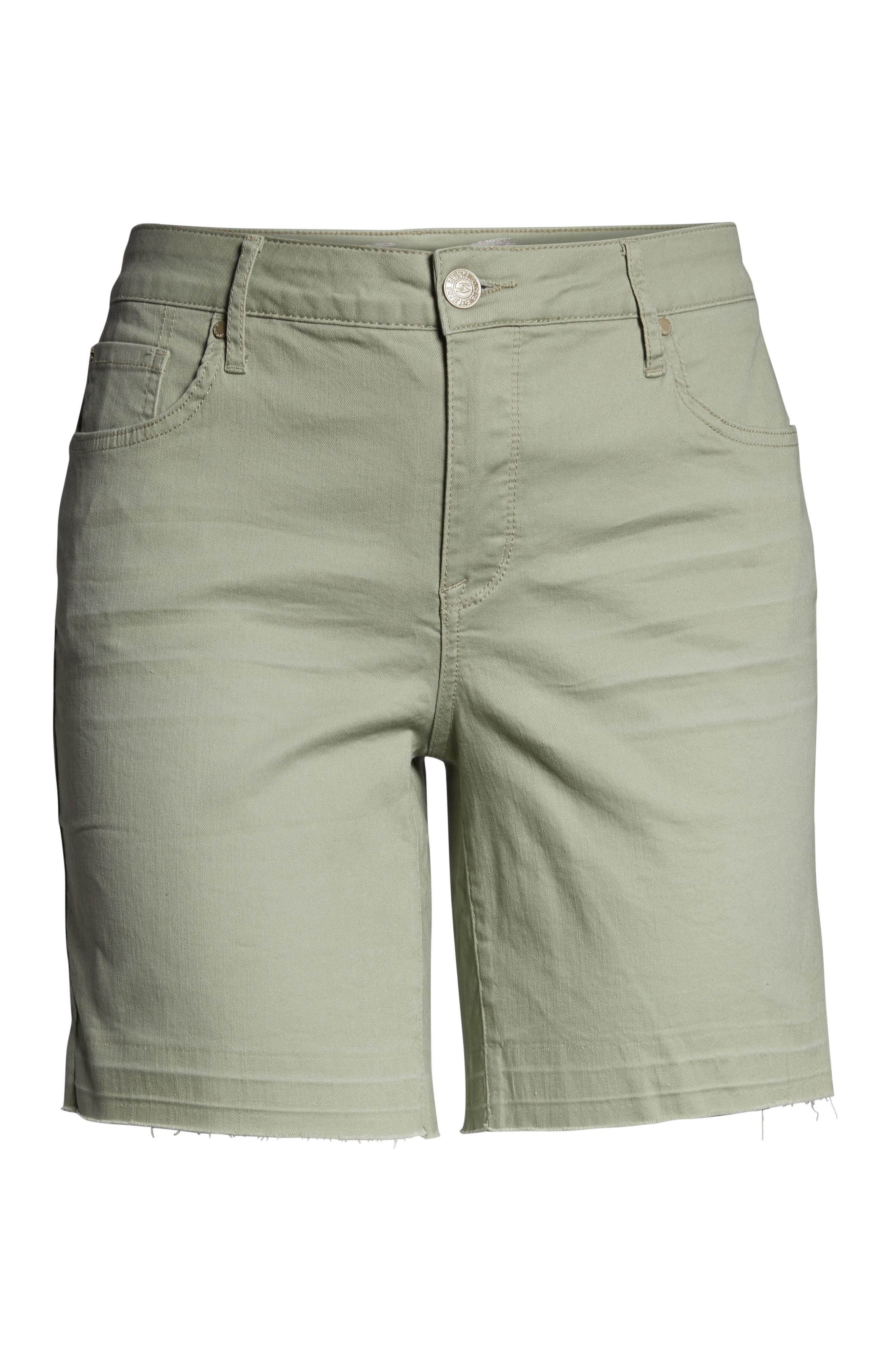 SEVEN7,                             Weekend Bermuda Shorts,                             Alternate thumbnail 7, color,                             SLATE GRAY