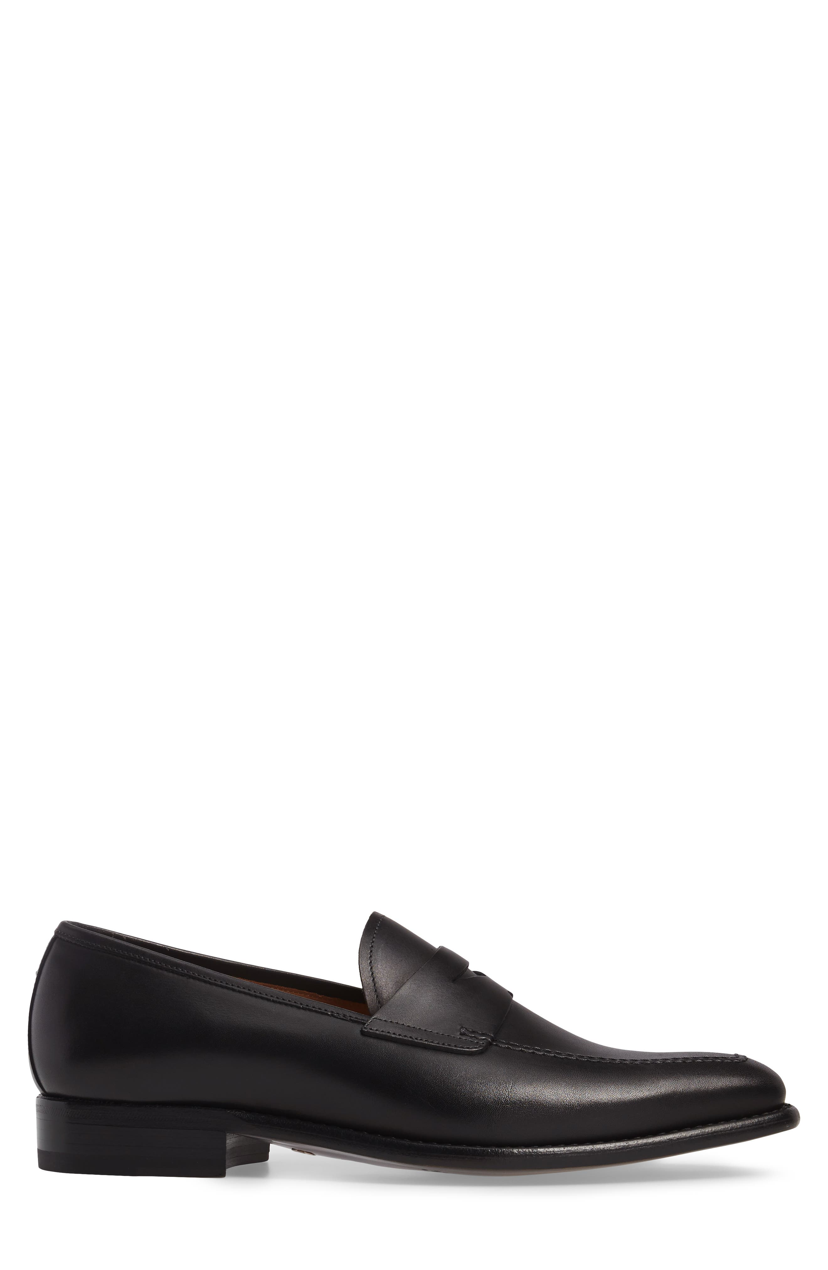 Claude Penny Loafer,                             Alternate thumbnail 3, color,                             008