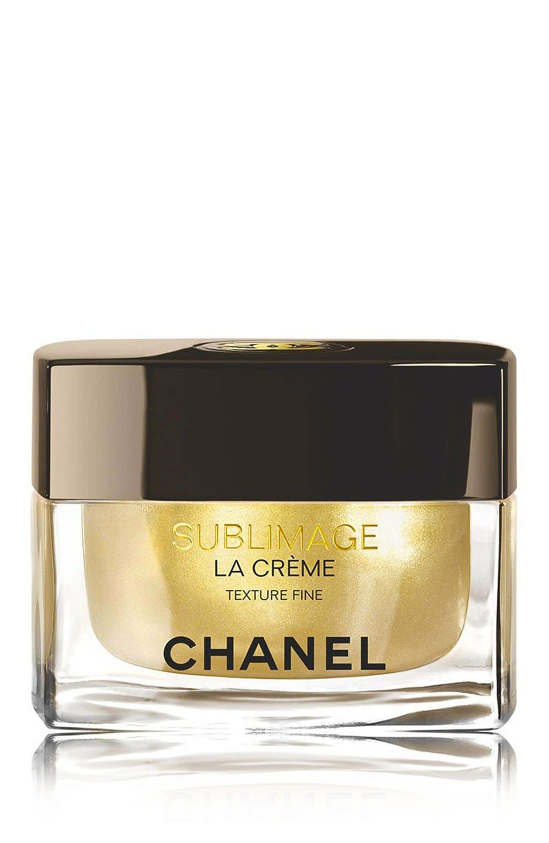CHANEL SUBLIMAGE LA CRÈME<br />Ultimate Skin Regeneration Texture Fine, Main, color, NO COLOR