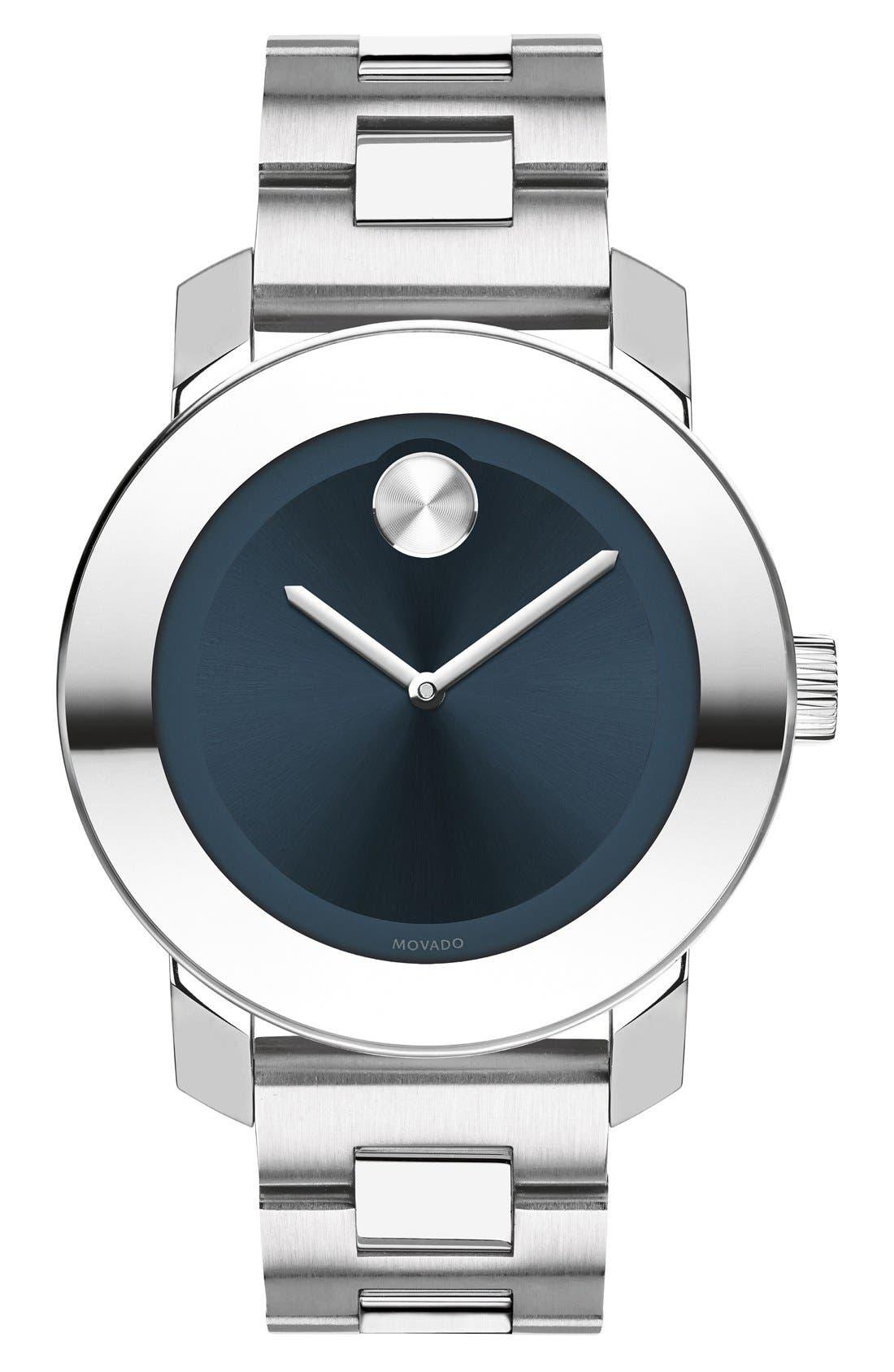 'Bold' Round Bracelet Watch, 36mm,                             Main thumbnail 2, color,