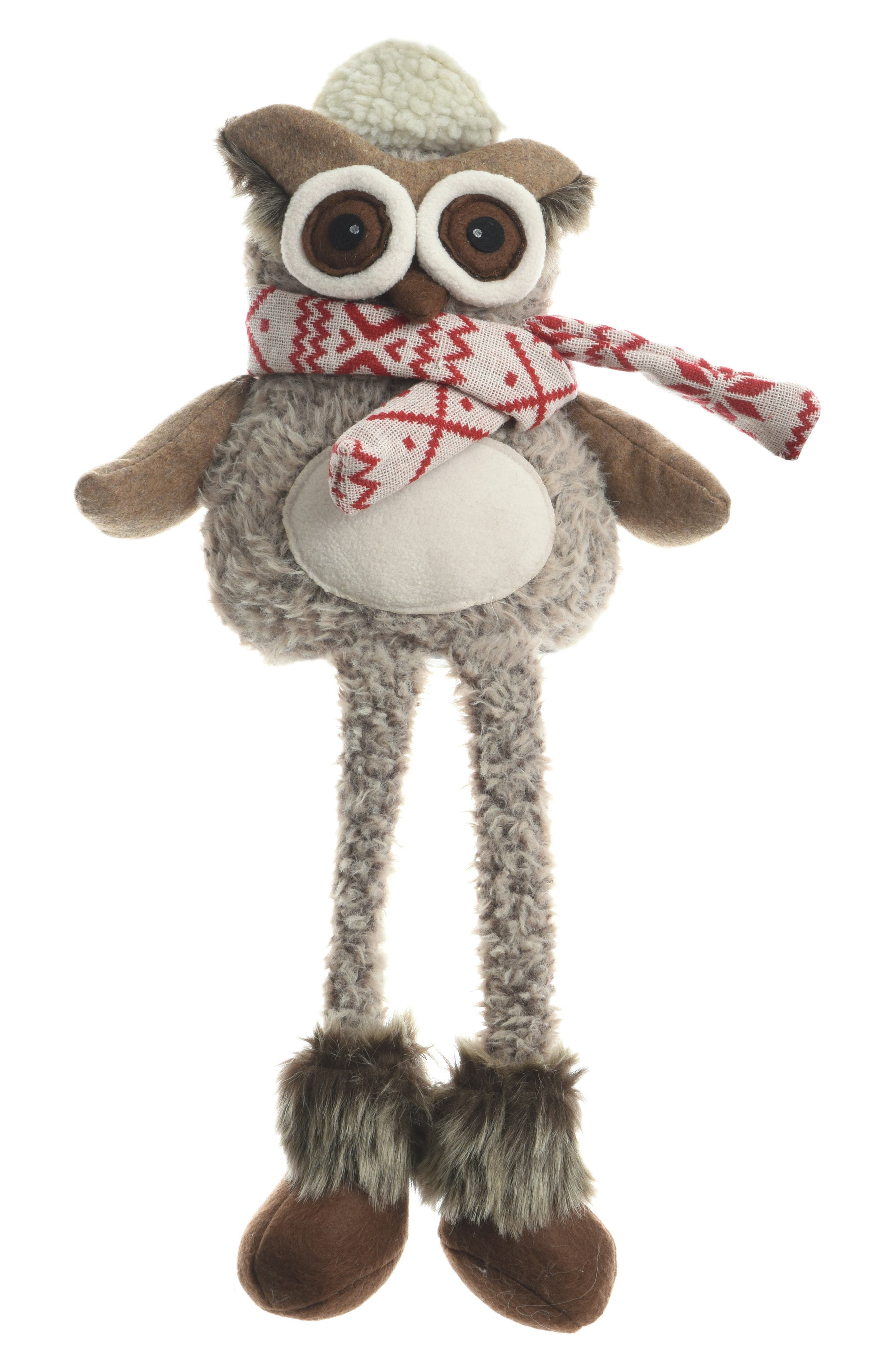 Sitting Owl Figurine,                         Main,                         color,