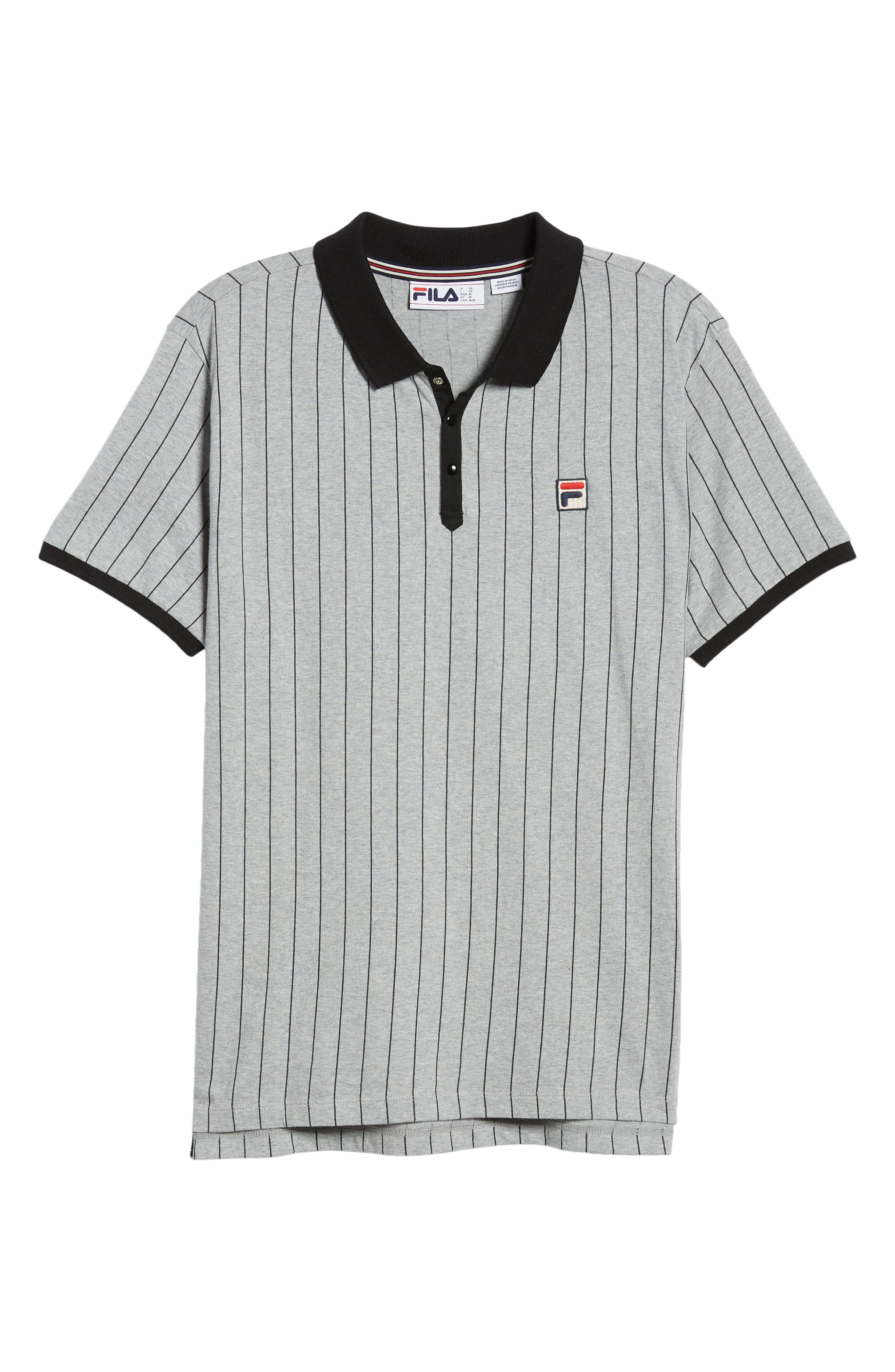 Snap Polo Shirt,                             Alternate thumbnail 6, color,                             020