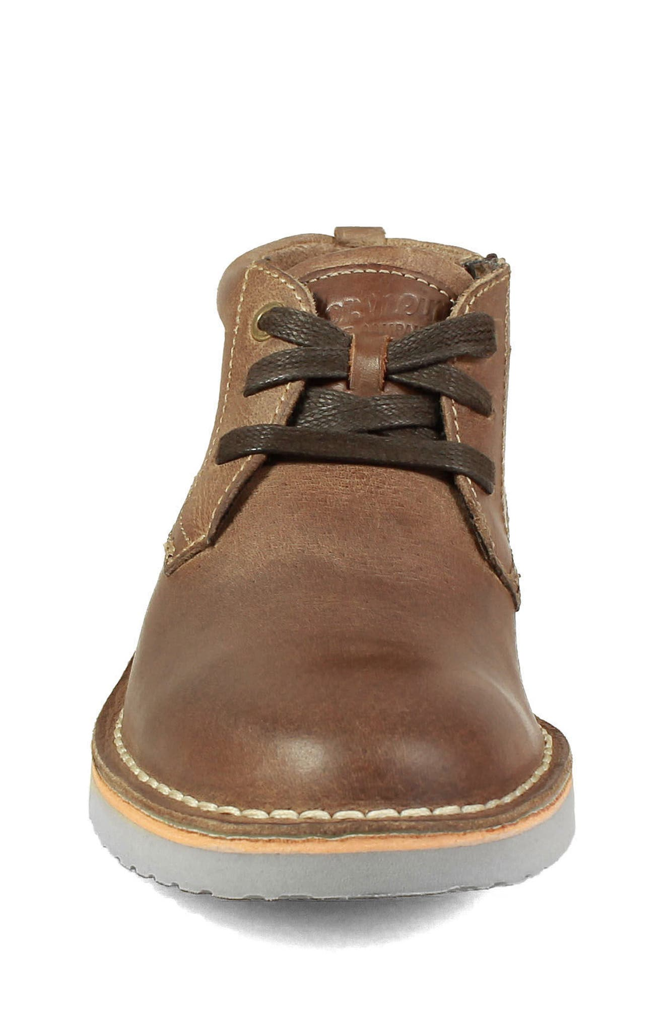Chukka Boot,                             Alternate thumbnail 4, color,                             BROWN CRAZY HORSE LEATHER