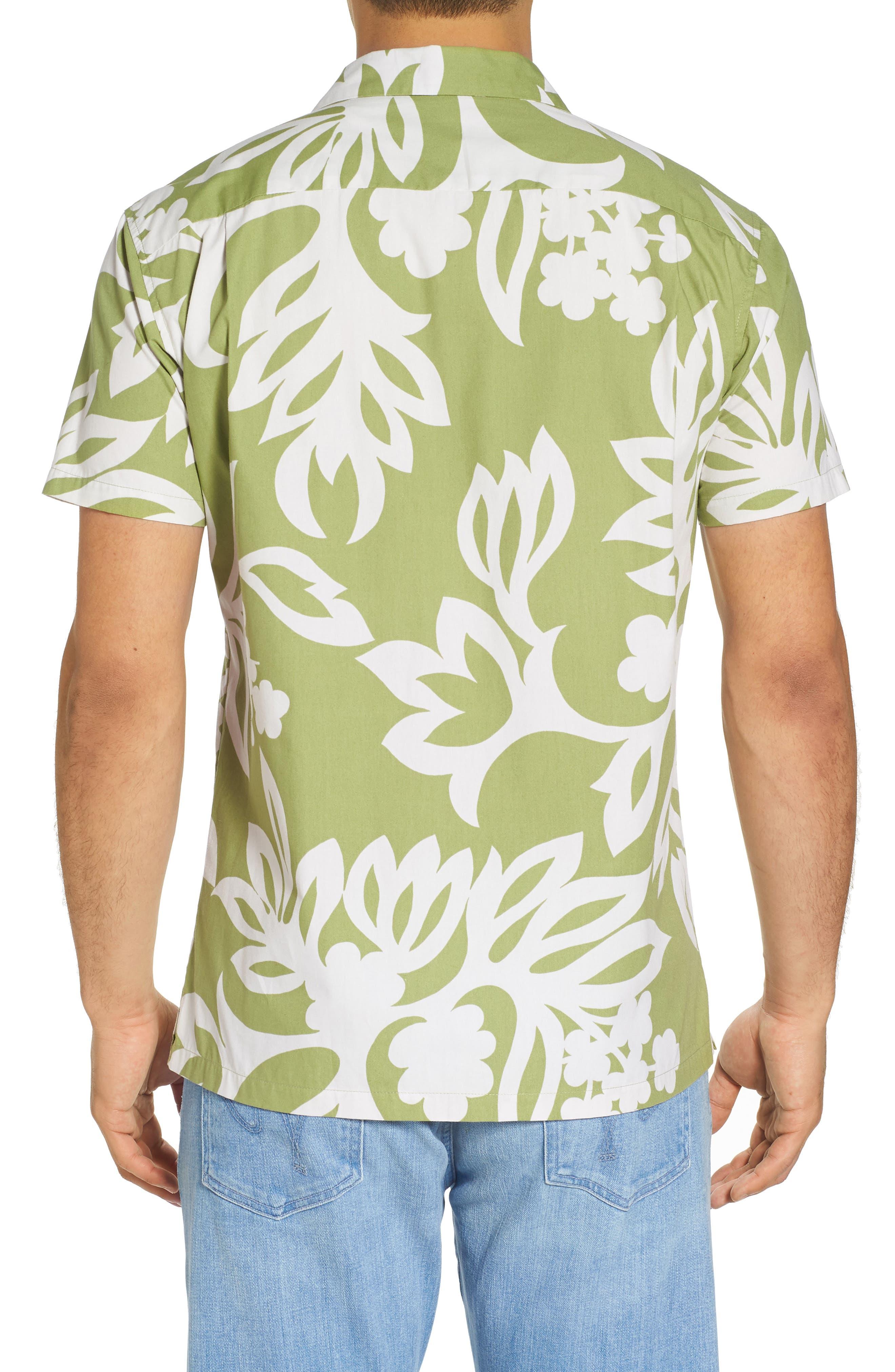 Simple Regular Fit Camp Shirt,                             Alternate thumbnail 2, color,                             335