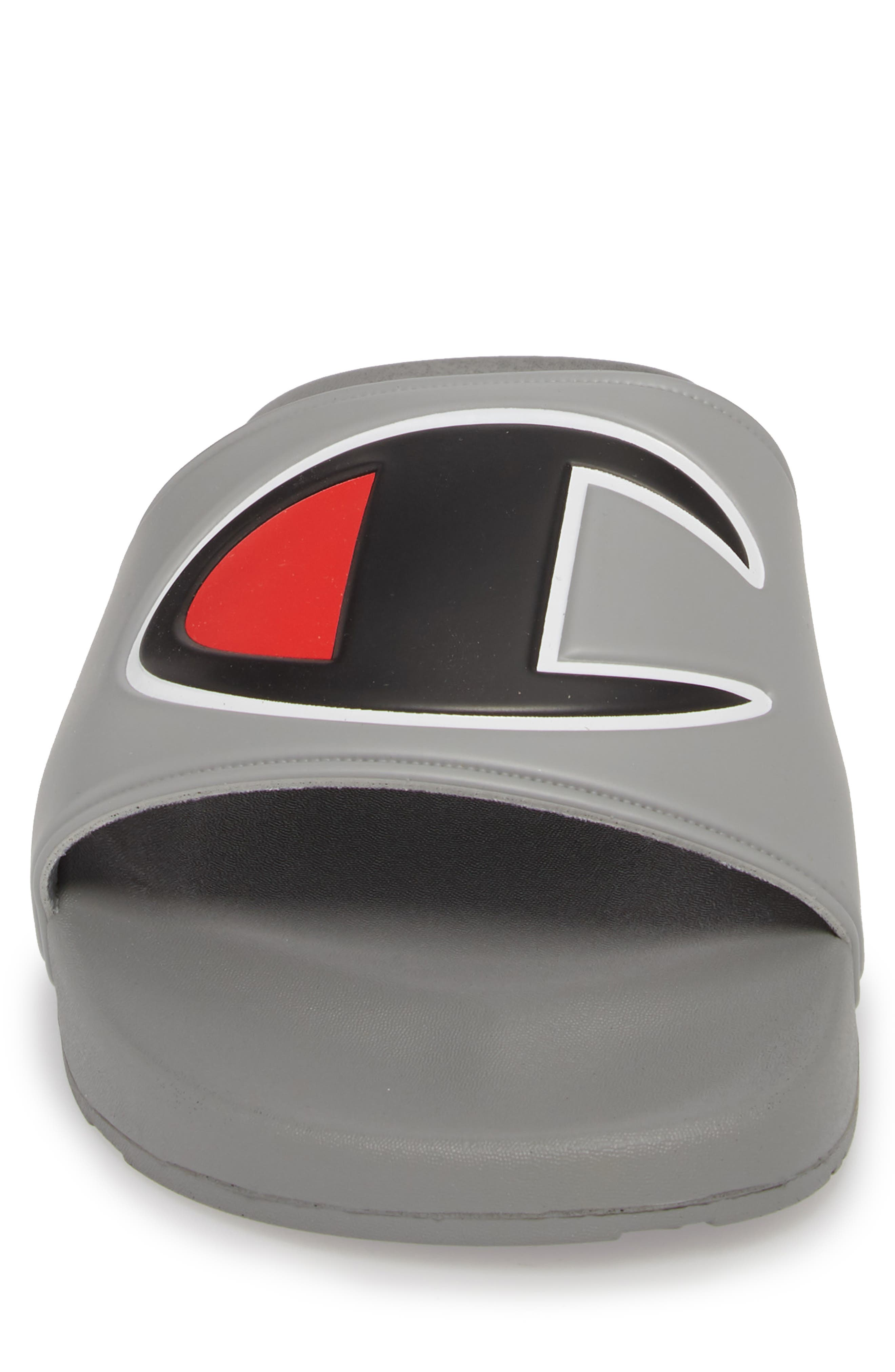 IPO Sports Slide Sandal,                             Alternate thumbnail 4, color,                             GREY
