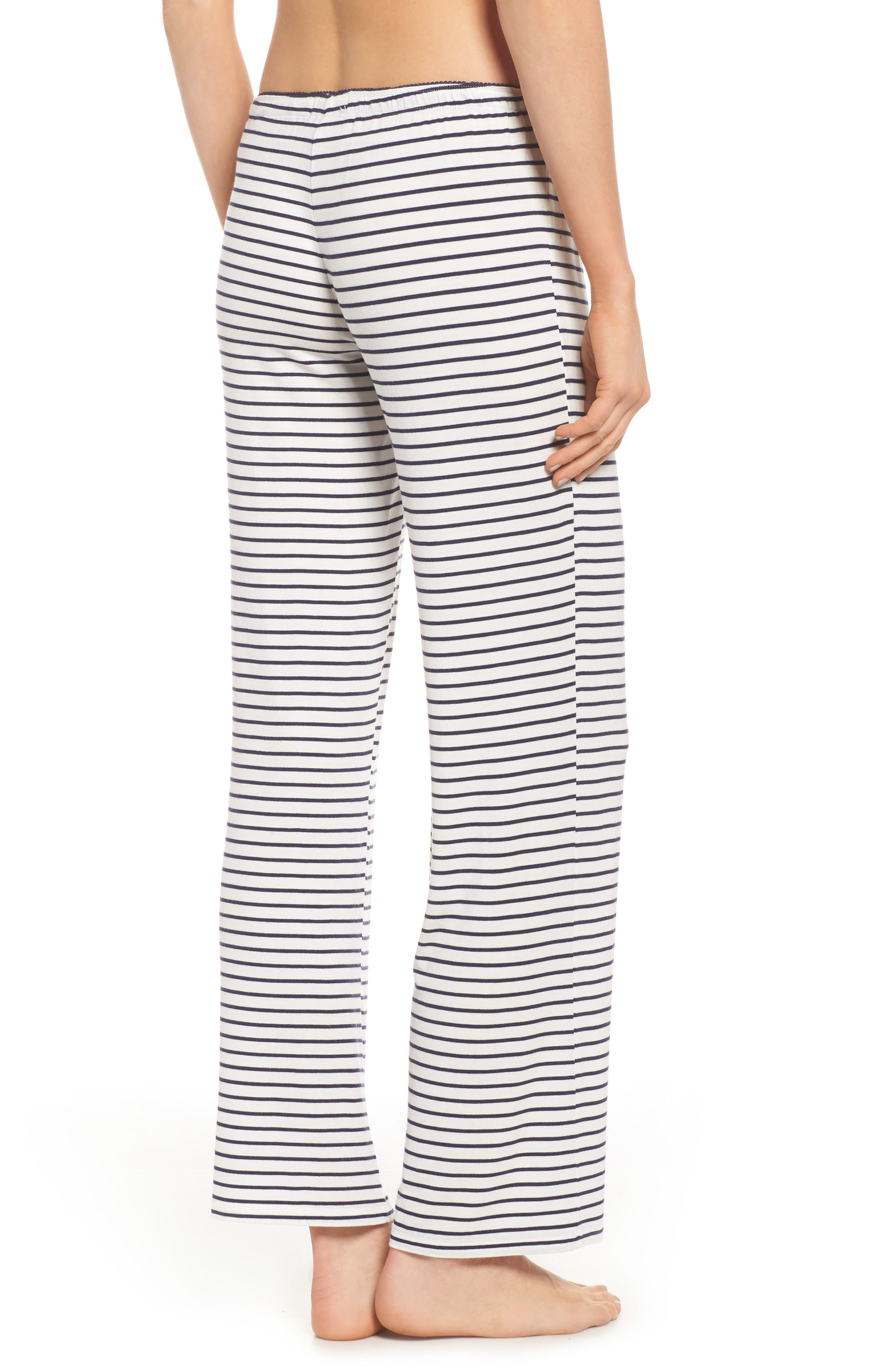 Stripe Pajama Pants,                             Alternate thumbnail 2, color,                             900