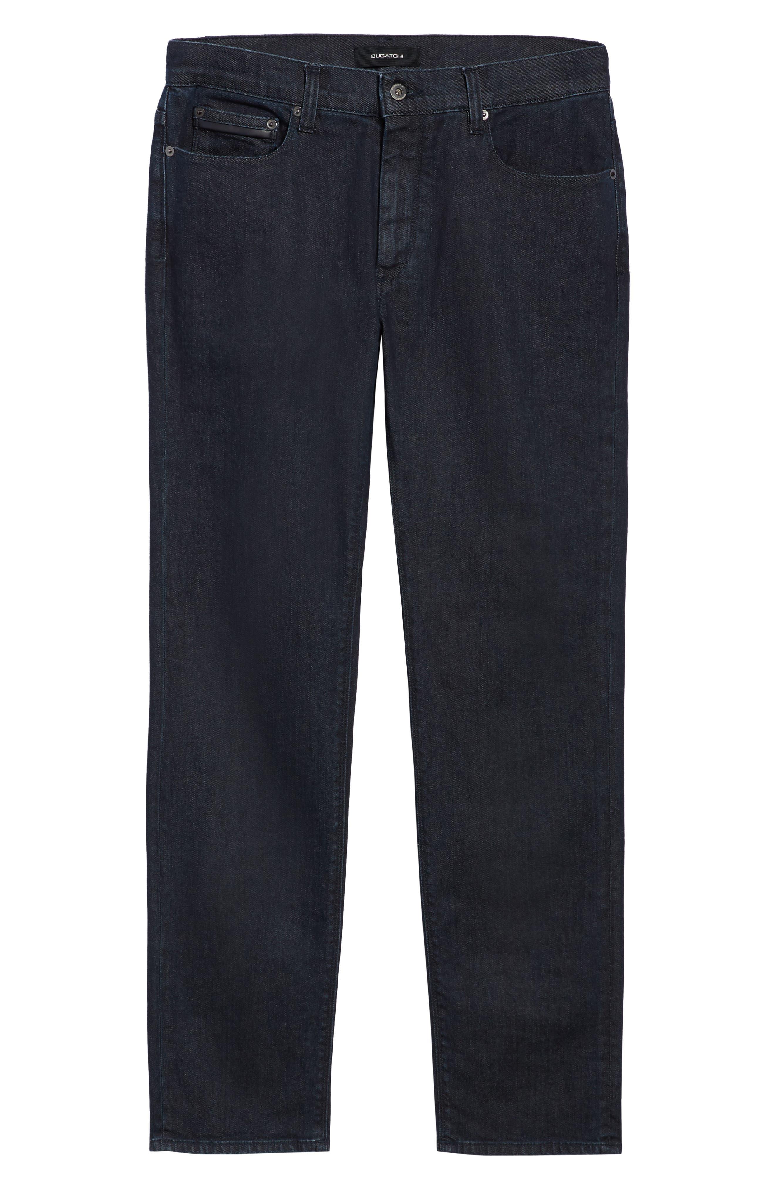 Slim Fit Jeans,                             Alternate thumbnail 6, color,                             SMOKE