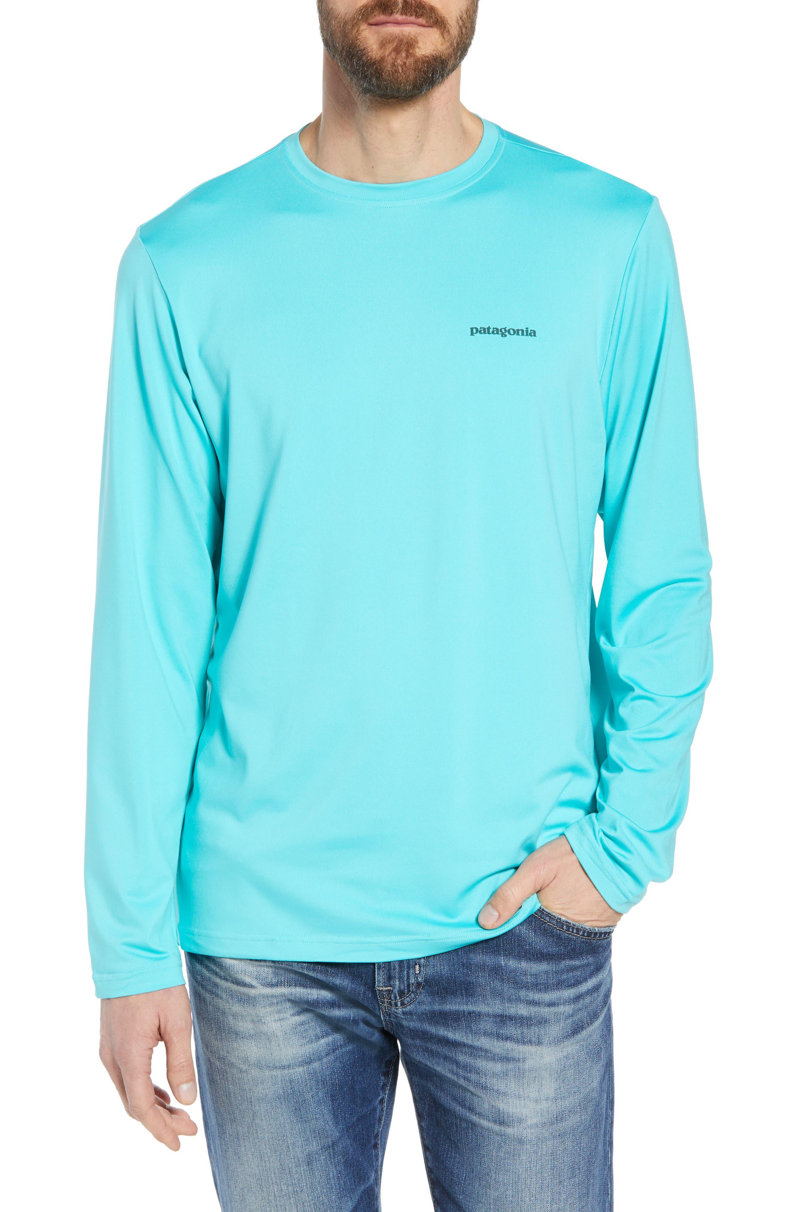 Tech Fish Graphic Long Sleeve T-Shirt,                             Main thumbnail 3, color,