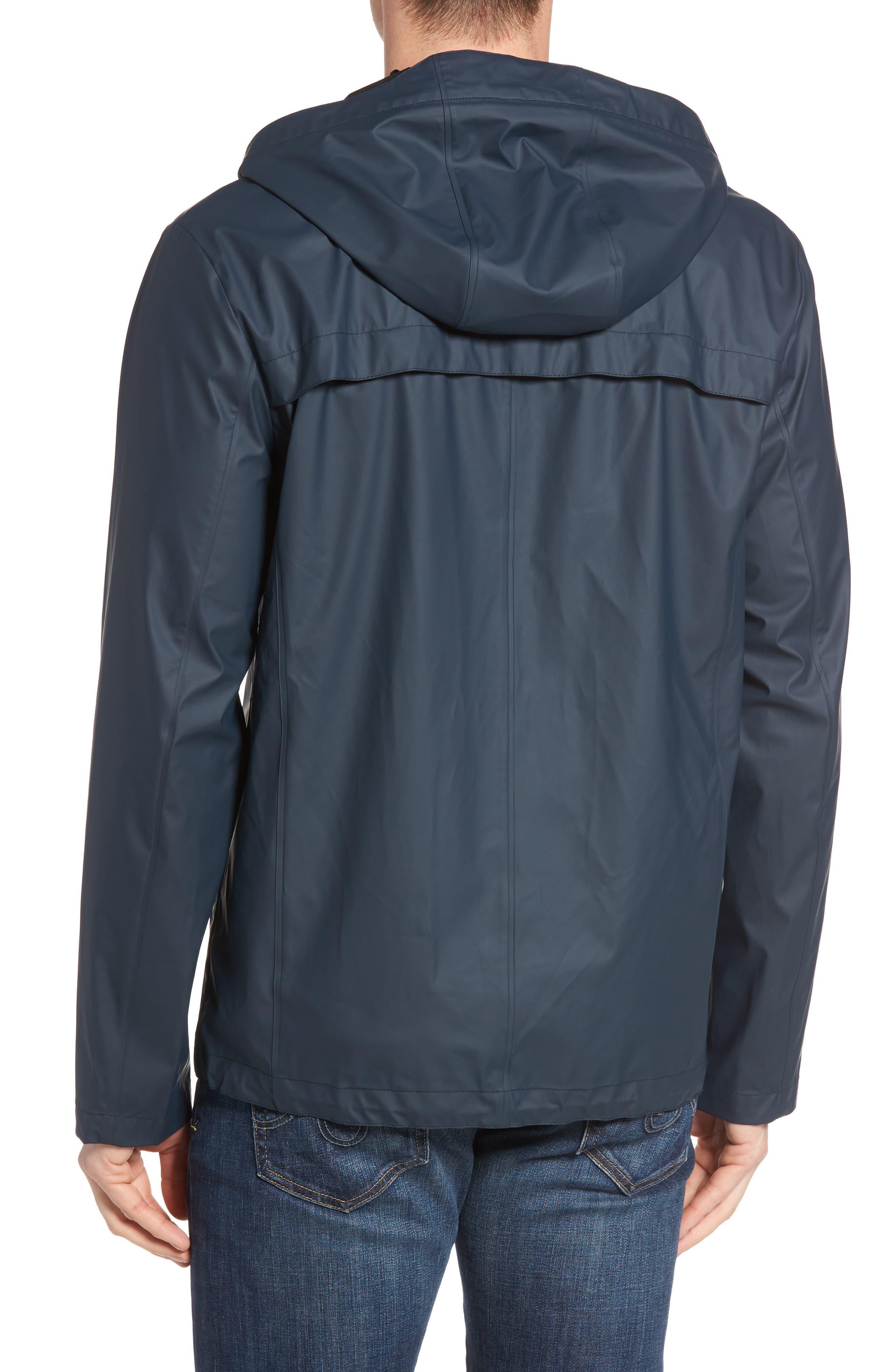 Rubberized Hooded Jacket,                             Alternate thumbnail 6, color,