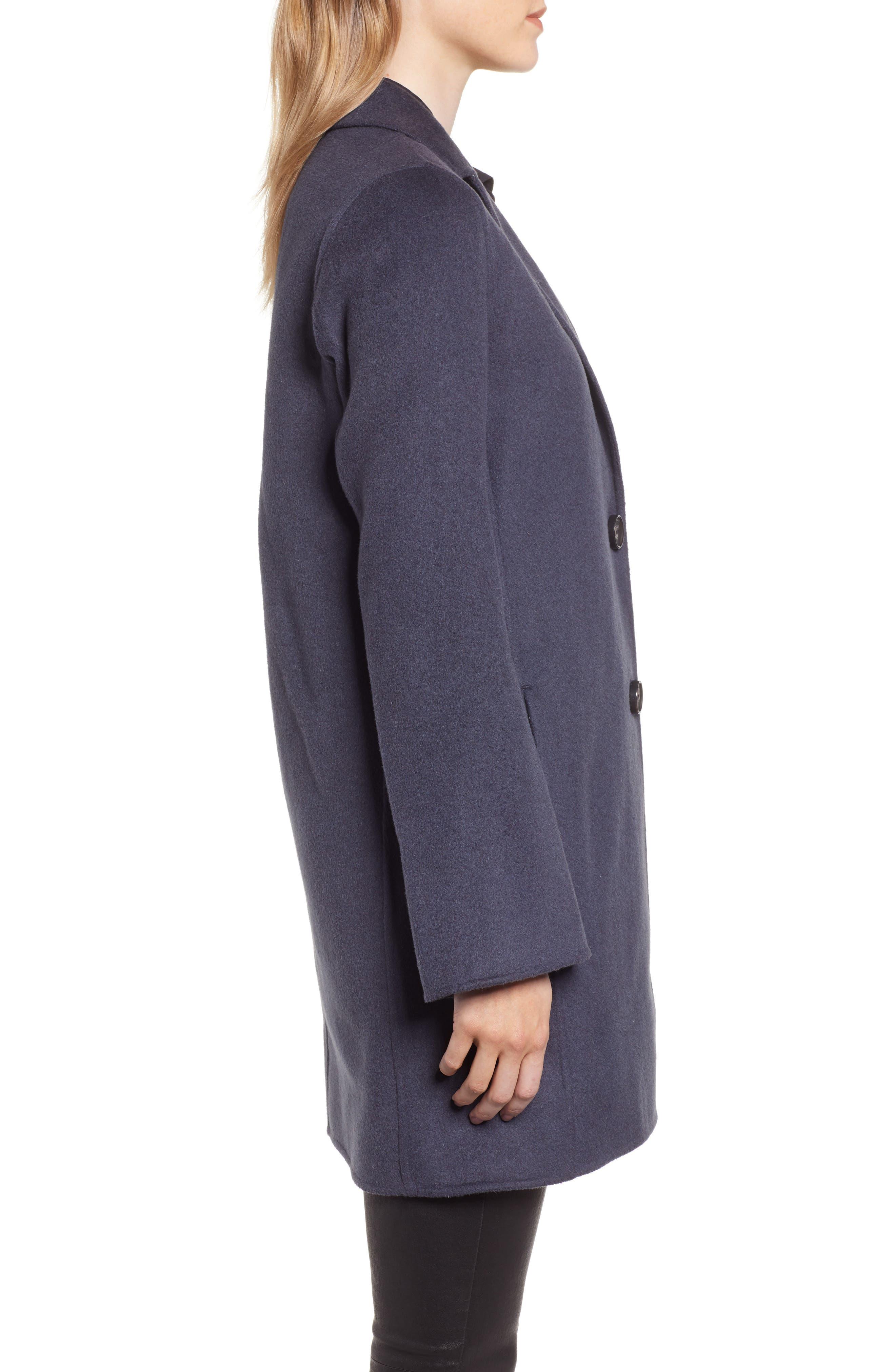 Jayden Bell Sleeve Jacket,                             Alternate thumbnail 3, color,                             SEA GREY