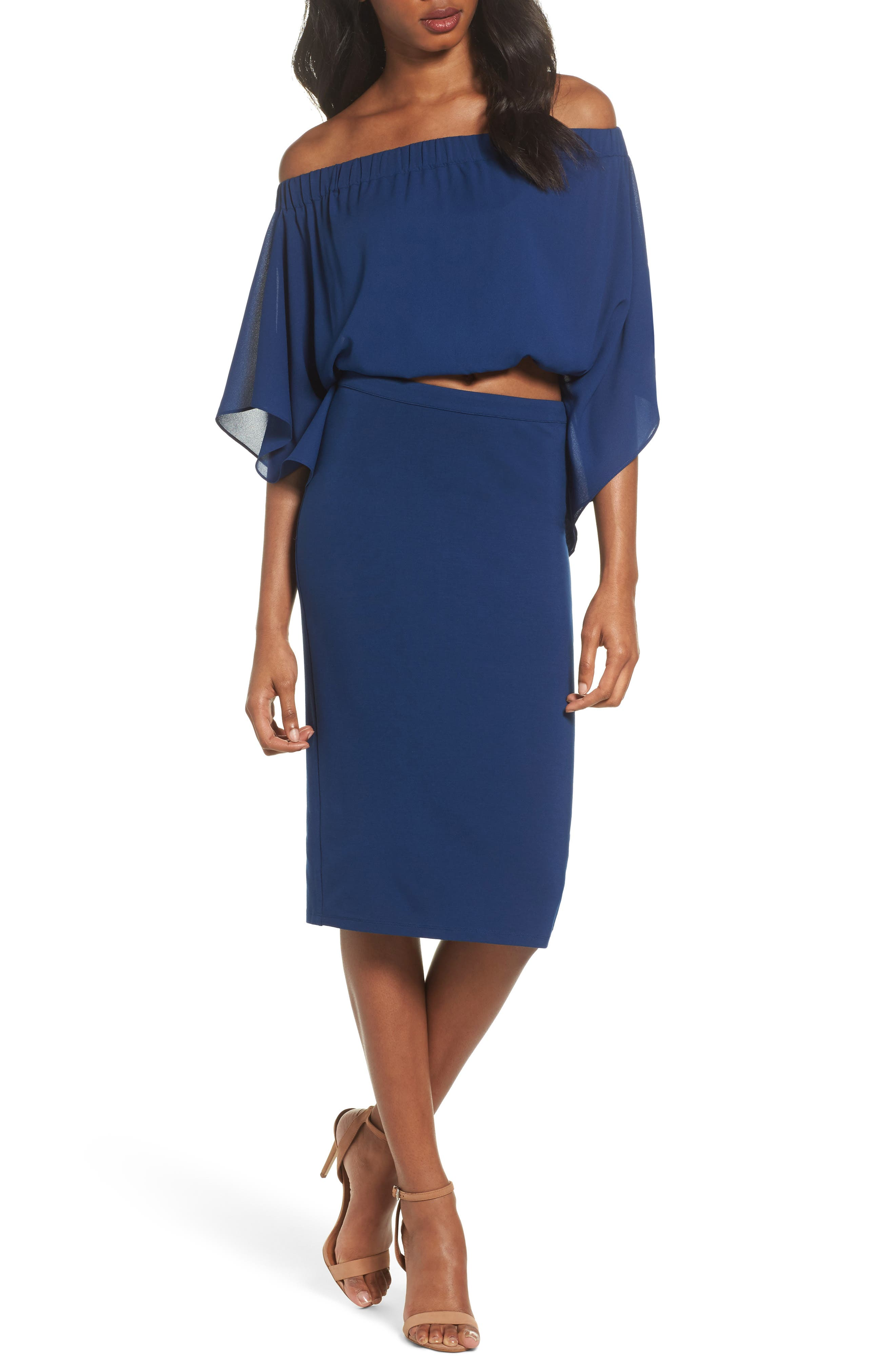 Sweet Smell of Success Two-Piece Dress,                             Main thumbnail 2, color,
