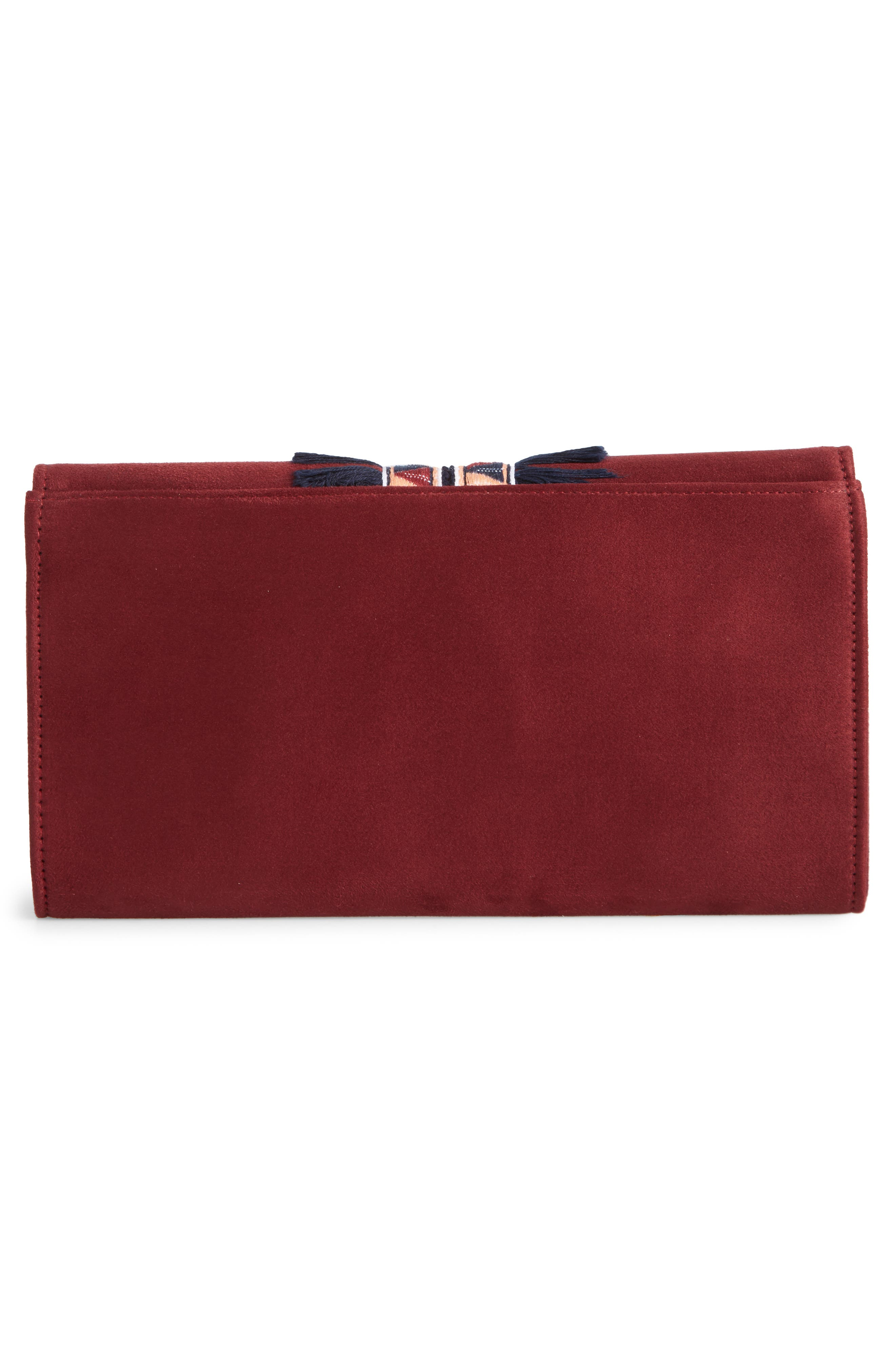 Rada Embroidered Clutch,                             Alternate thumbnail 6, color,