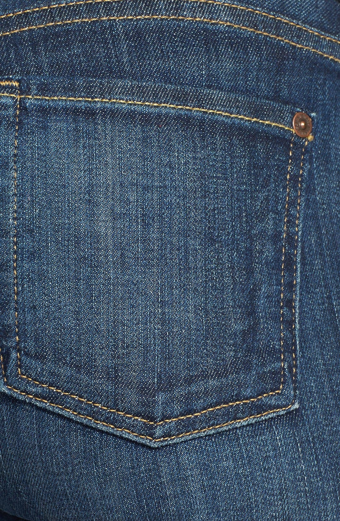 'The Skinny' Mid Rise Skinny Jeans,                             Alternate thumbnail 3, color,                             400