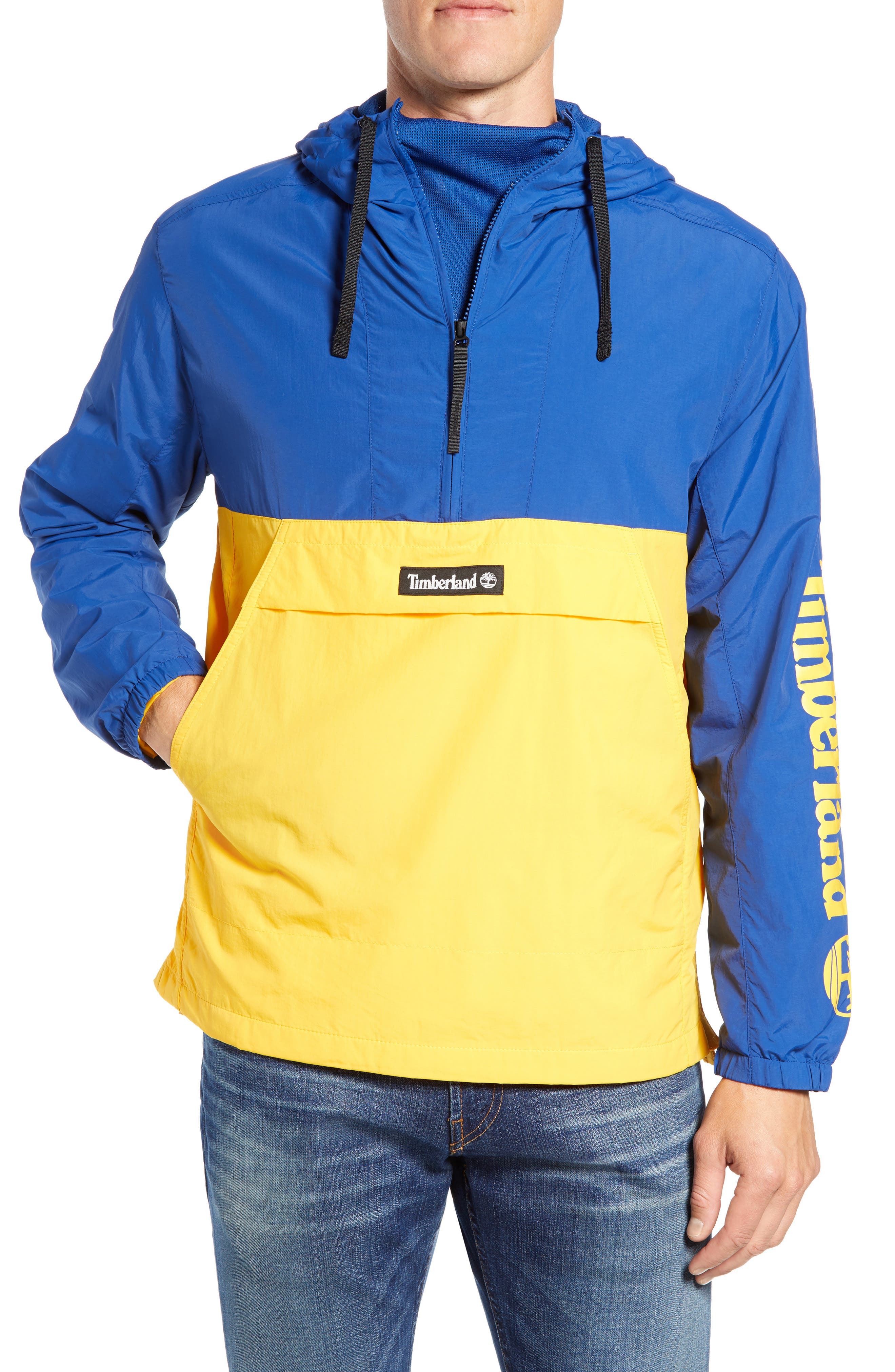 Windbreaker Anorak,                         Main,                         color, GOLD FUSION/ LIMOGES