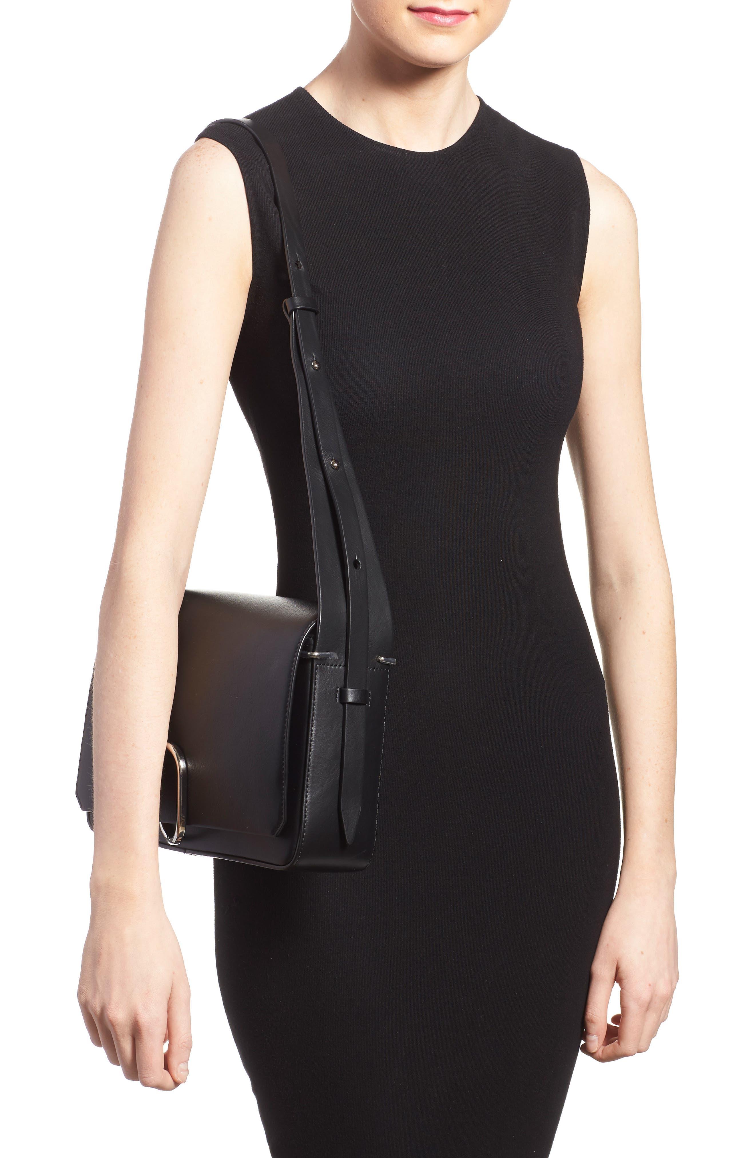 'Alix' Flap Shoulder Bag,                             Alternate thumbnail 7, color,