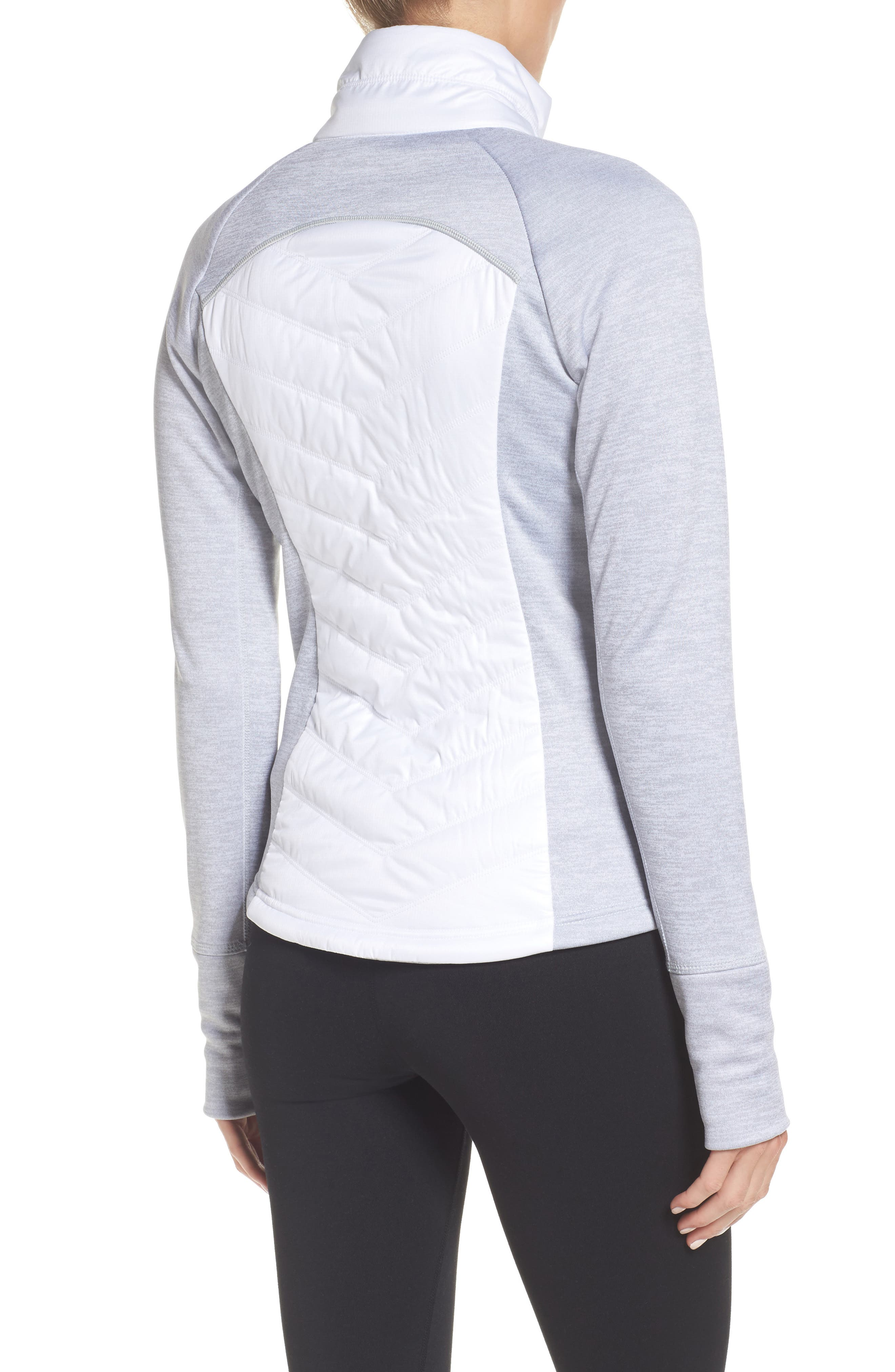 Zelfusion Reflective Quilted Jacket,                             Alternate thumbnail 21, color,