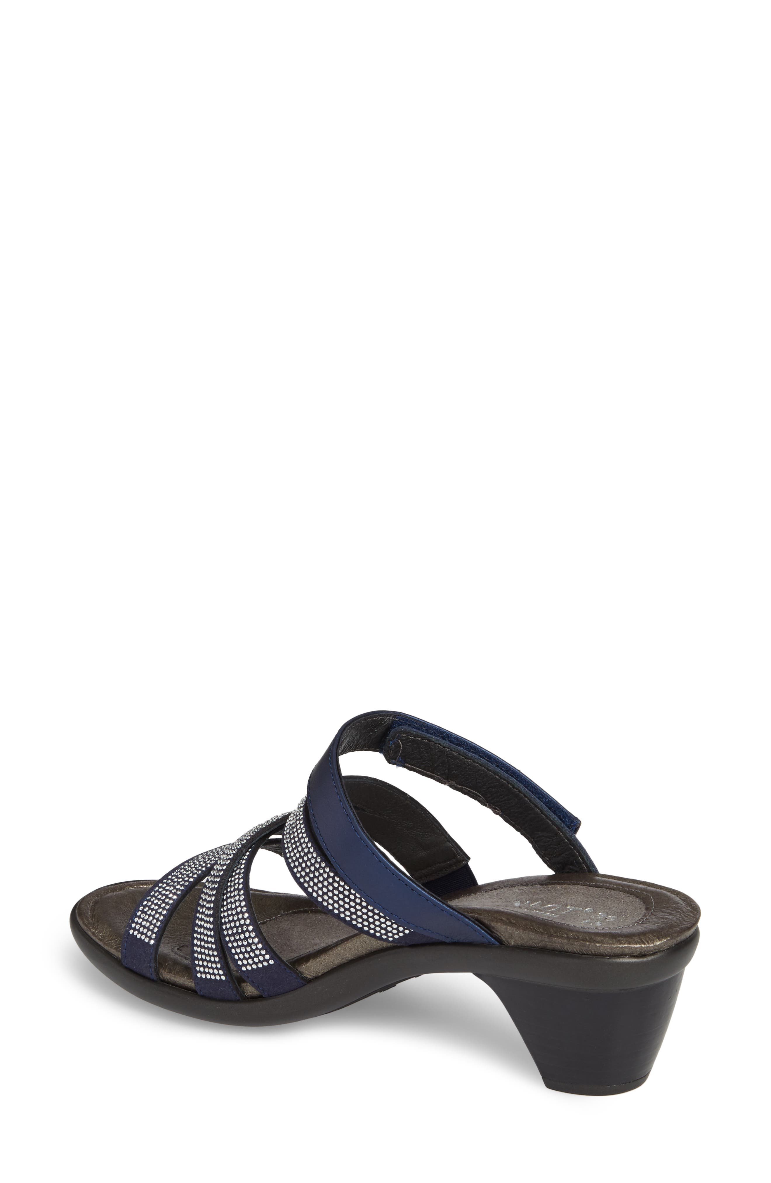 Formal Sandal,                             Alternate thumbnail 2, color,                             DARK BLUE LEATHER
