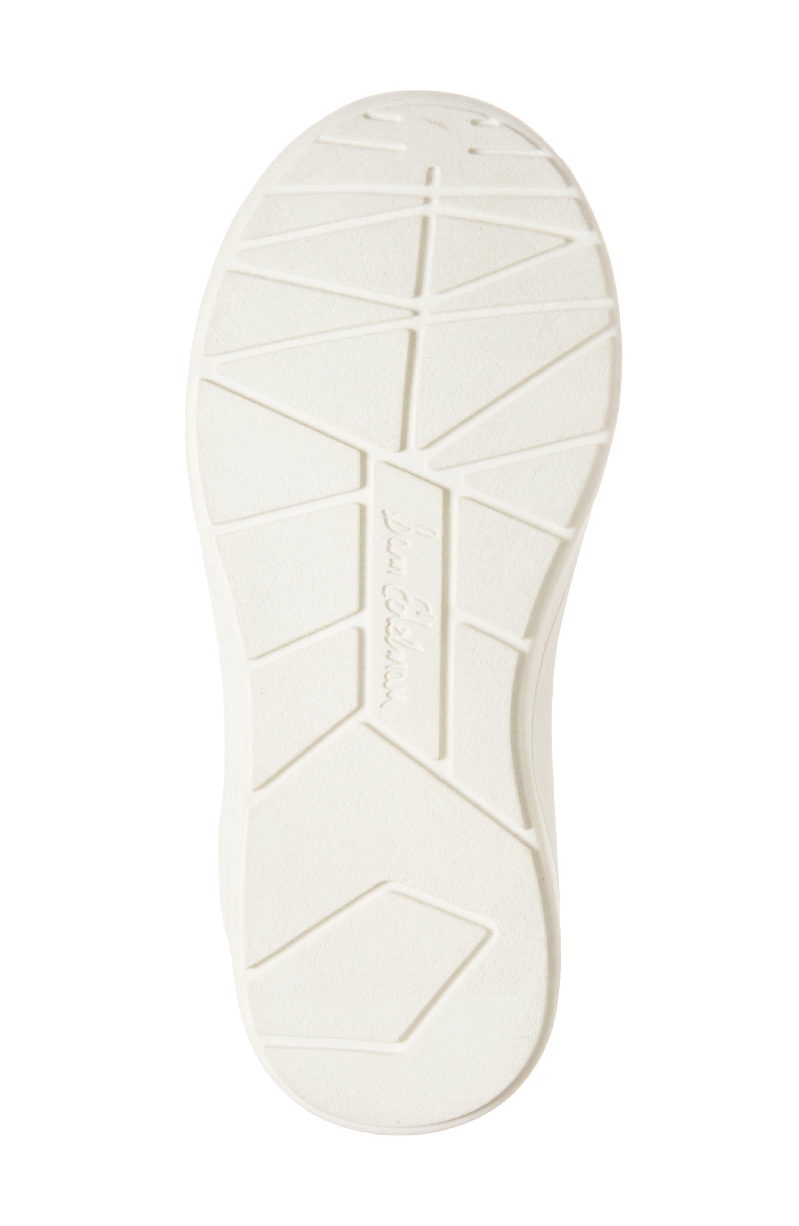 Ariana Pom Glitter Sneaker,                             Alternate thumbnail 6, color,                             BLACK SHIMMER