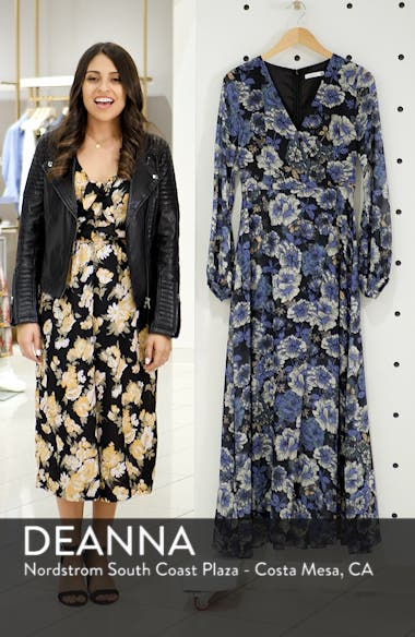 Floral Fantasy Maxi Dress, sales video thumbnail