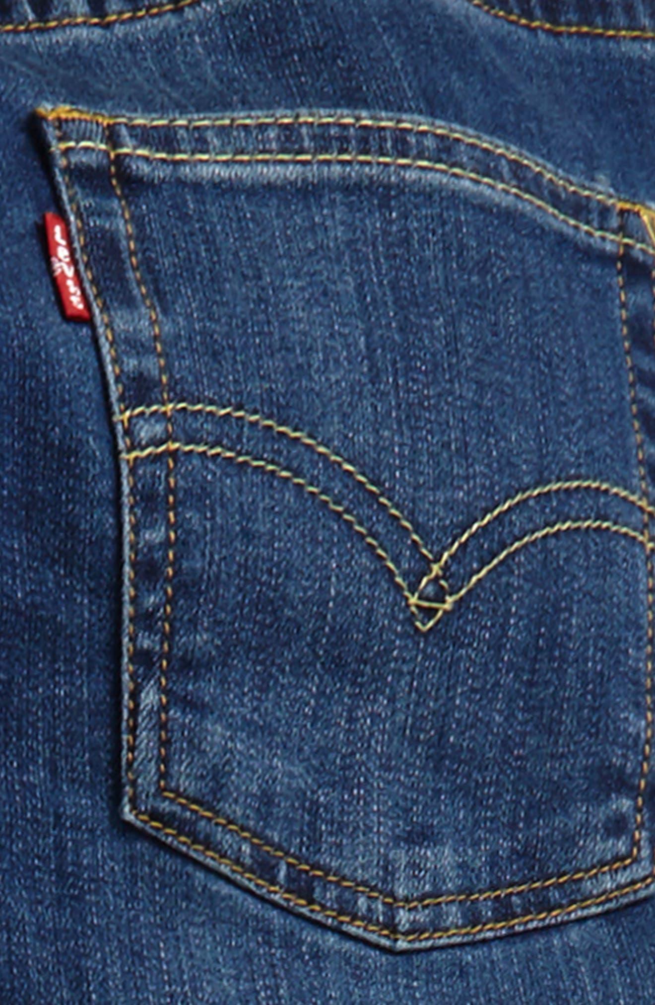 Comfort Slim Fit Straight Leg Jeans,                             Alternate thumbnail 8, color,