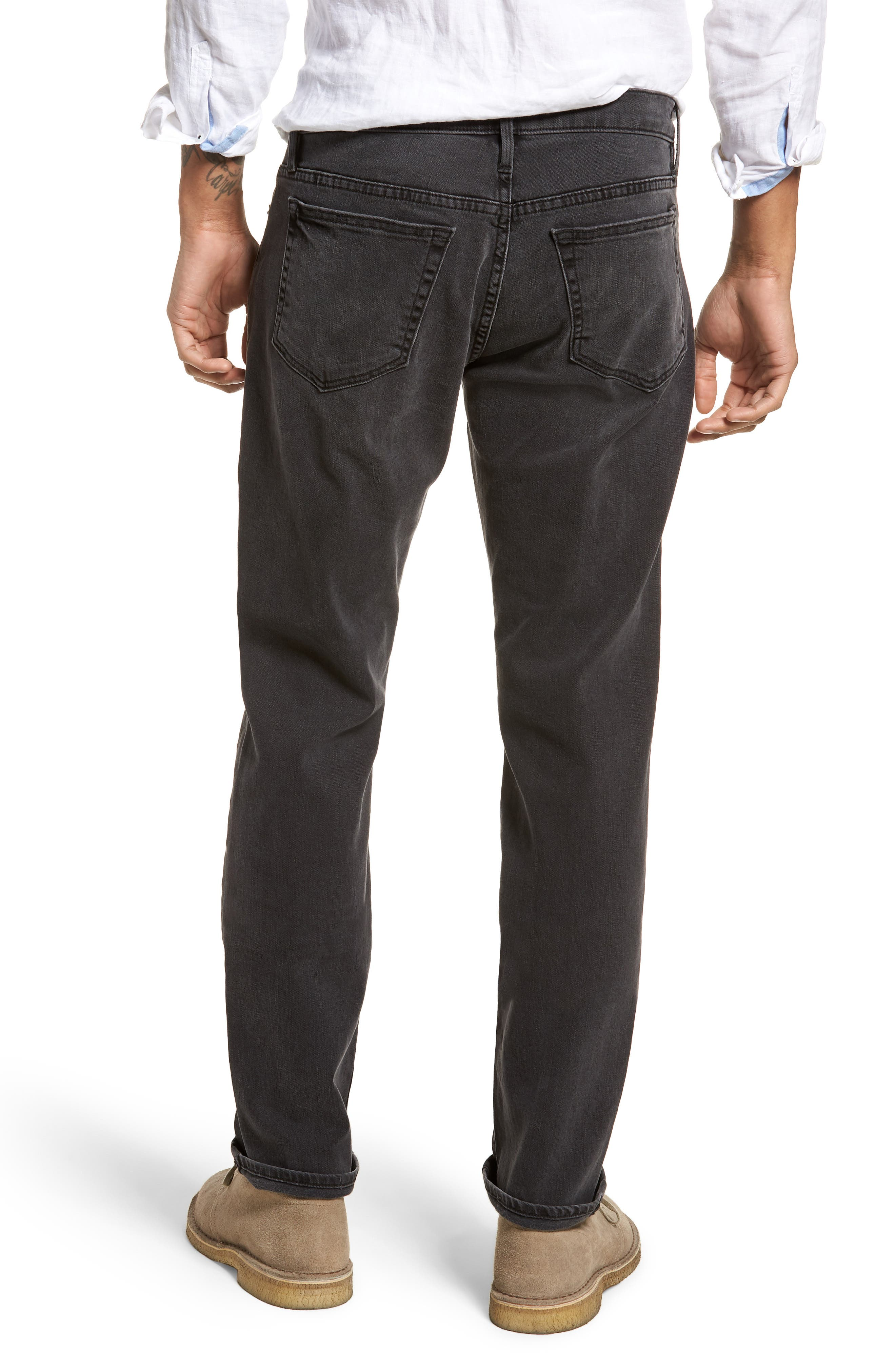 L'Homme Straight Leg Jeans,                             Alternate thumbnail 2, color,                             FADE TO GREY