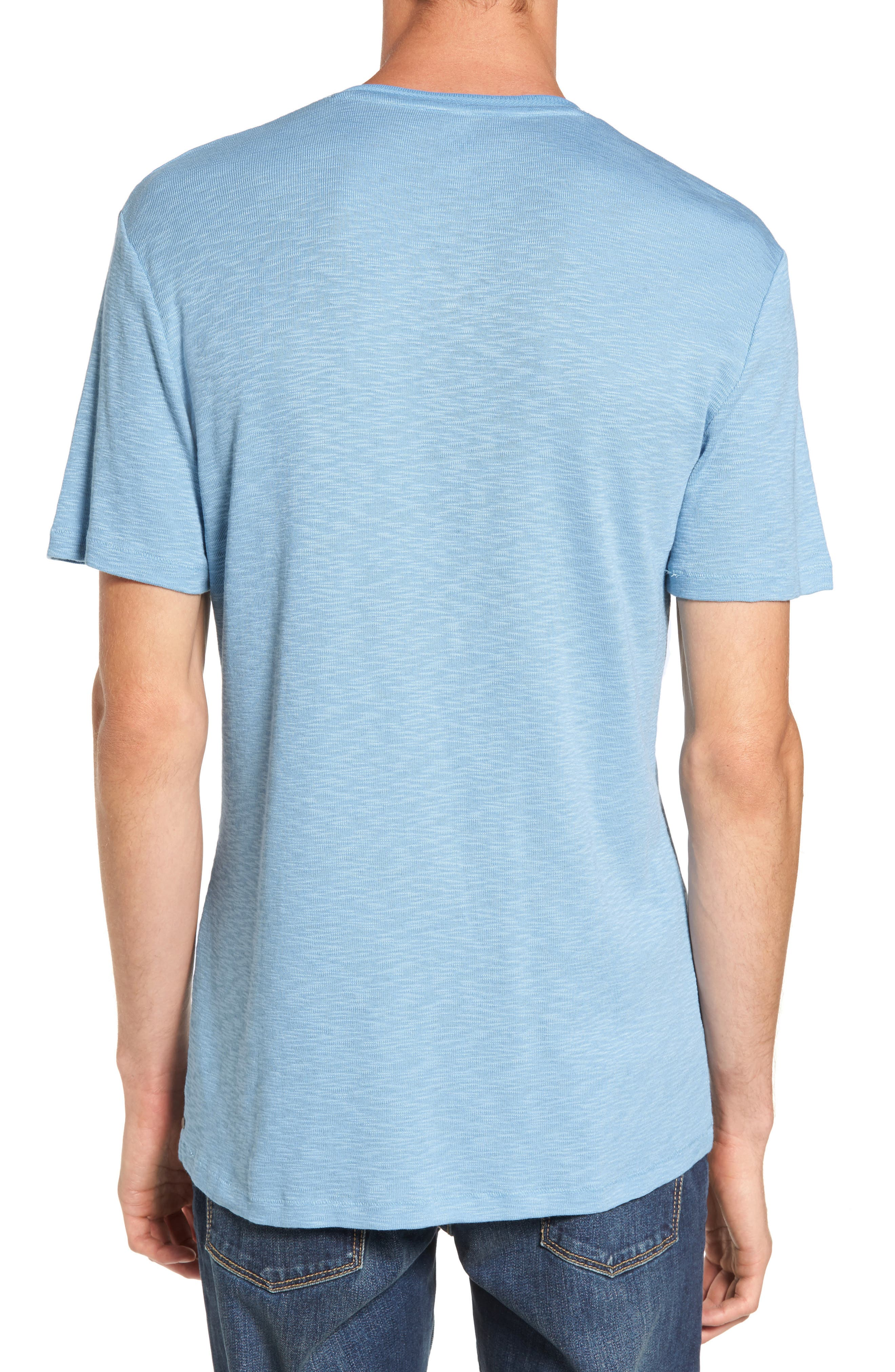 Capitola V-Neck T-Shirt,                             Alternate thumbnail 9, color,