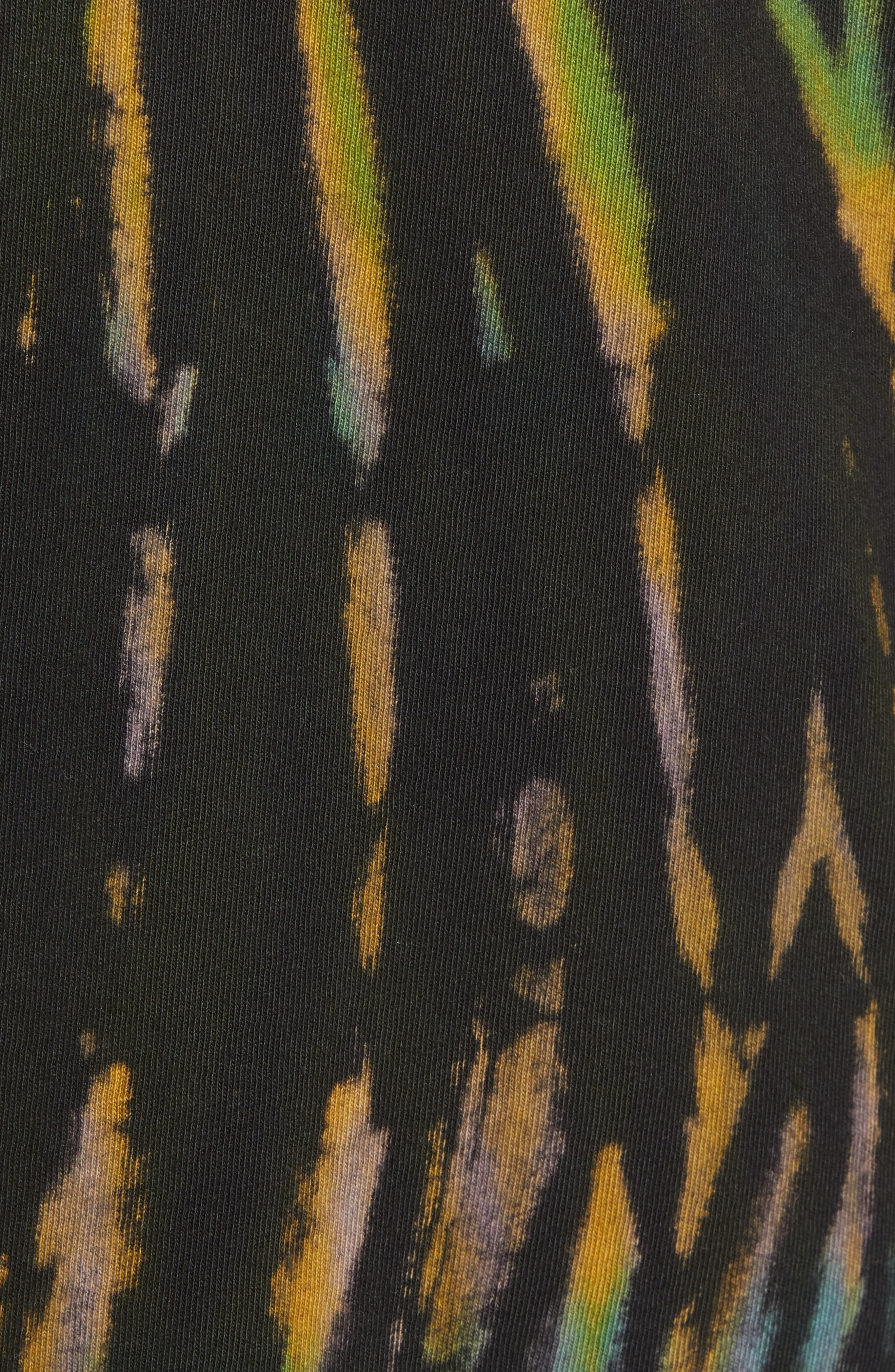 Tie Dye Reaper T-Shirt,                             Alternate thumbnail 5, color,                             BLACK
