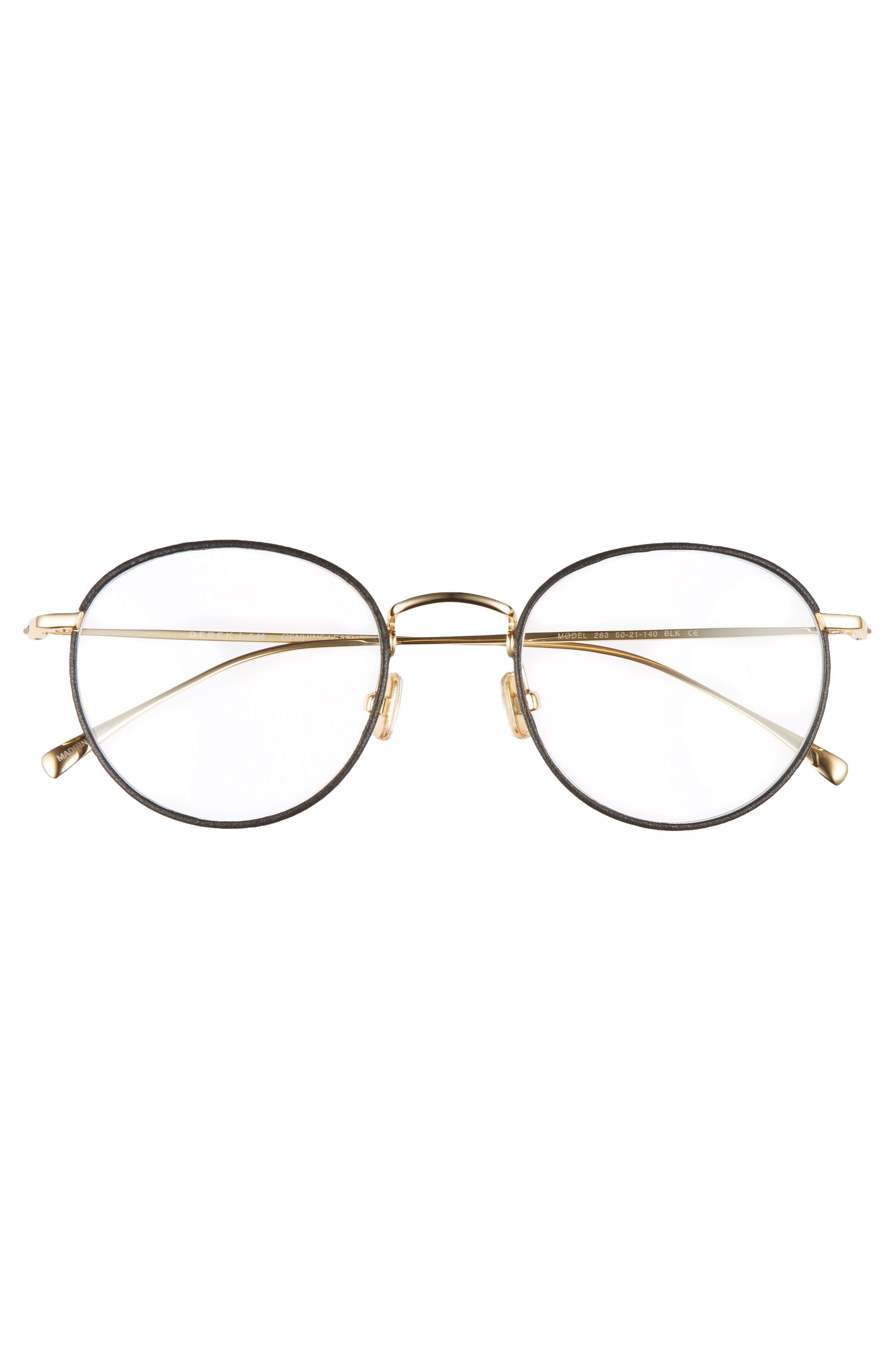 50mm Optical Glasses,                             Alternate thumbnail 3, color,                             BLACK