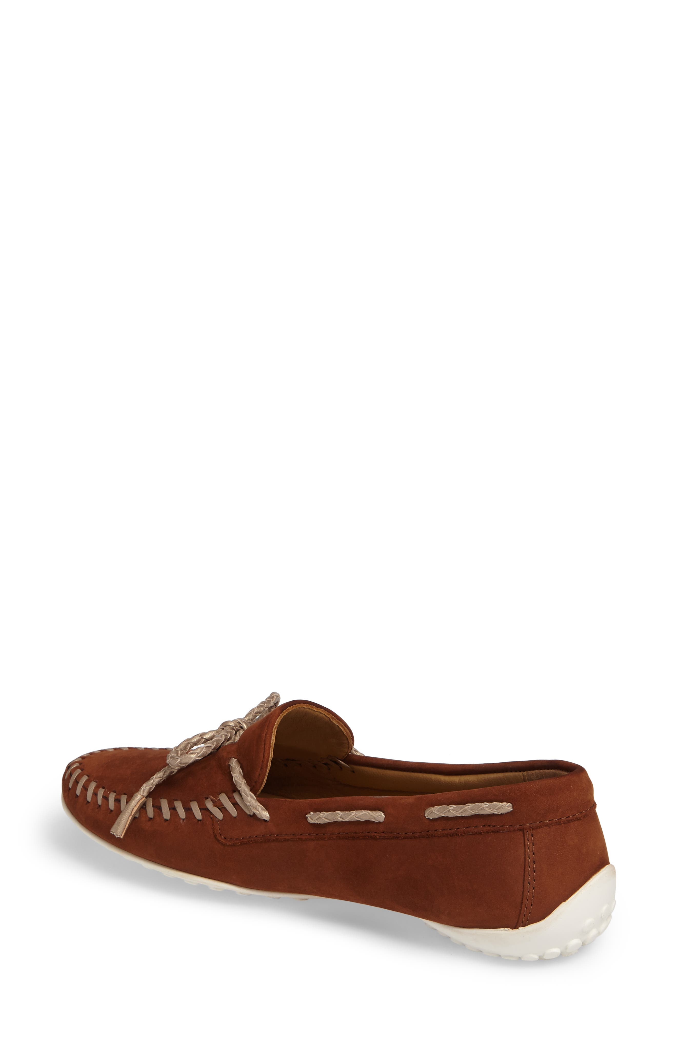Zoe Water Resistant Moccasin,                             Alternate thumbnail 4, color,
