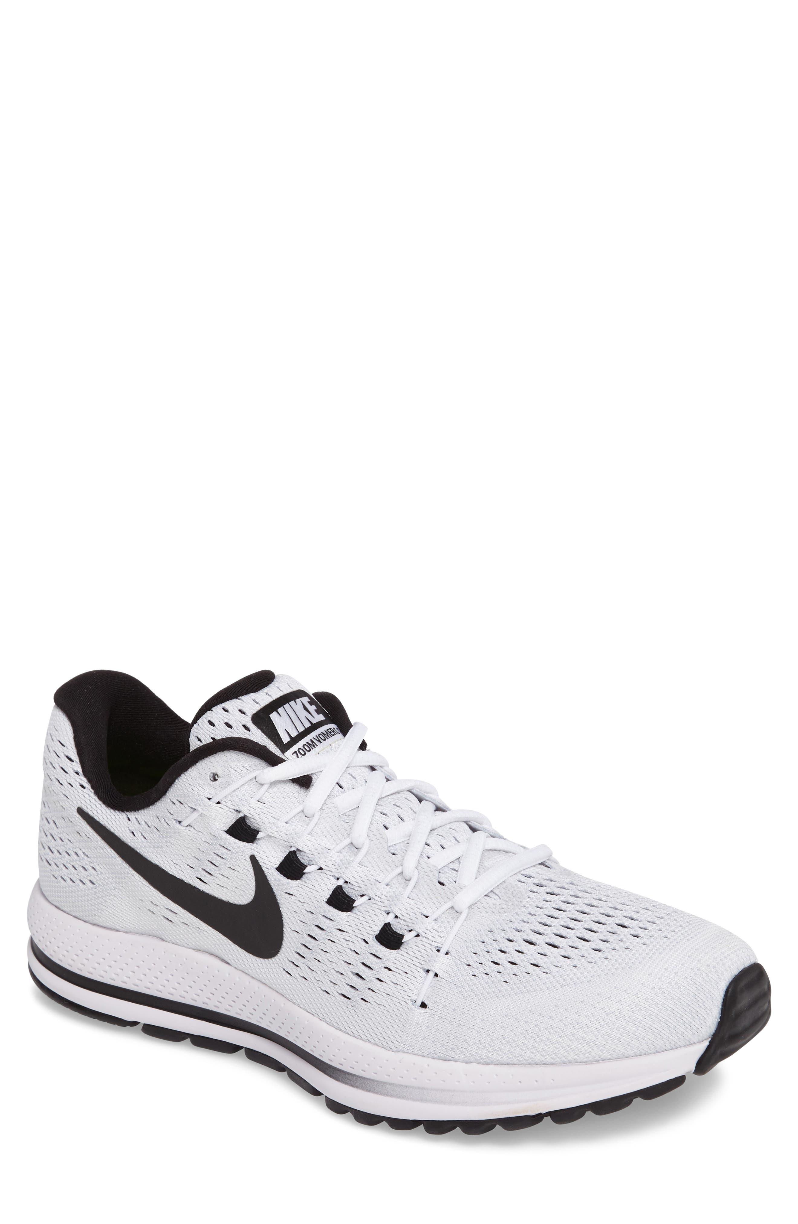 NIKE,                             Air Zoom Vomero 12 Running Shoe,                             Main thumbnail 1, color,                             100