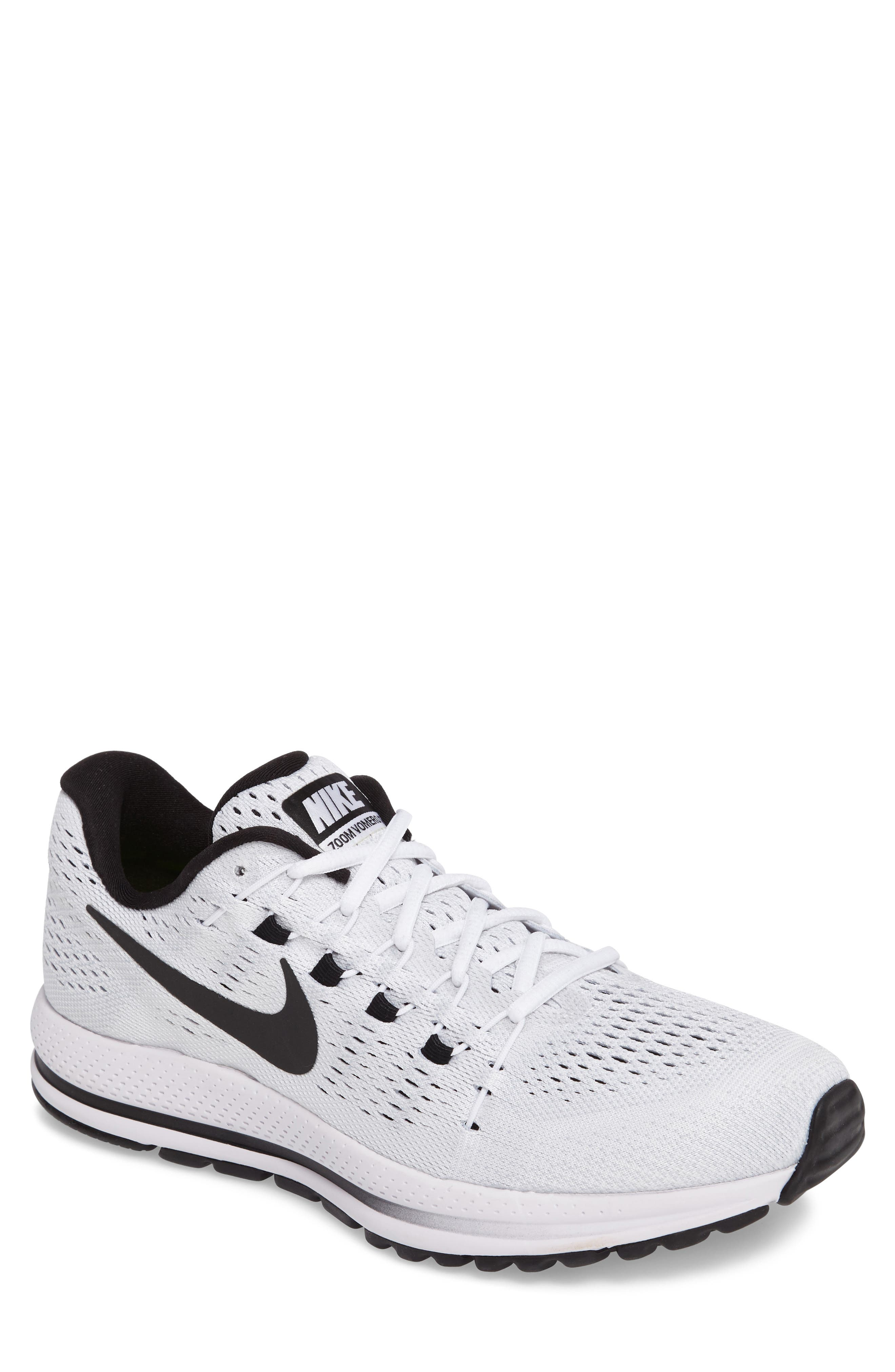 NIKE Air Zoom Vomero 12 Running Shoe, Main, color, 100