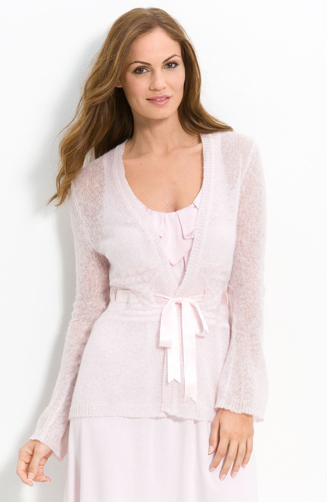 'Knit by the Fire' Bed Jacket, Main, color, 682